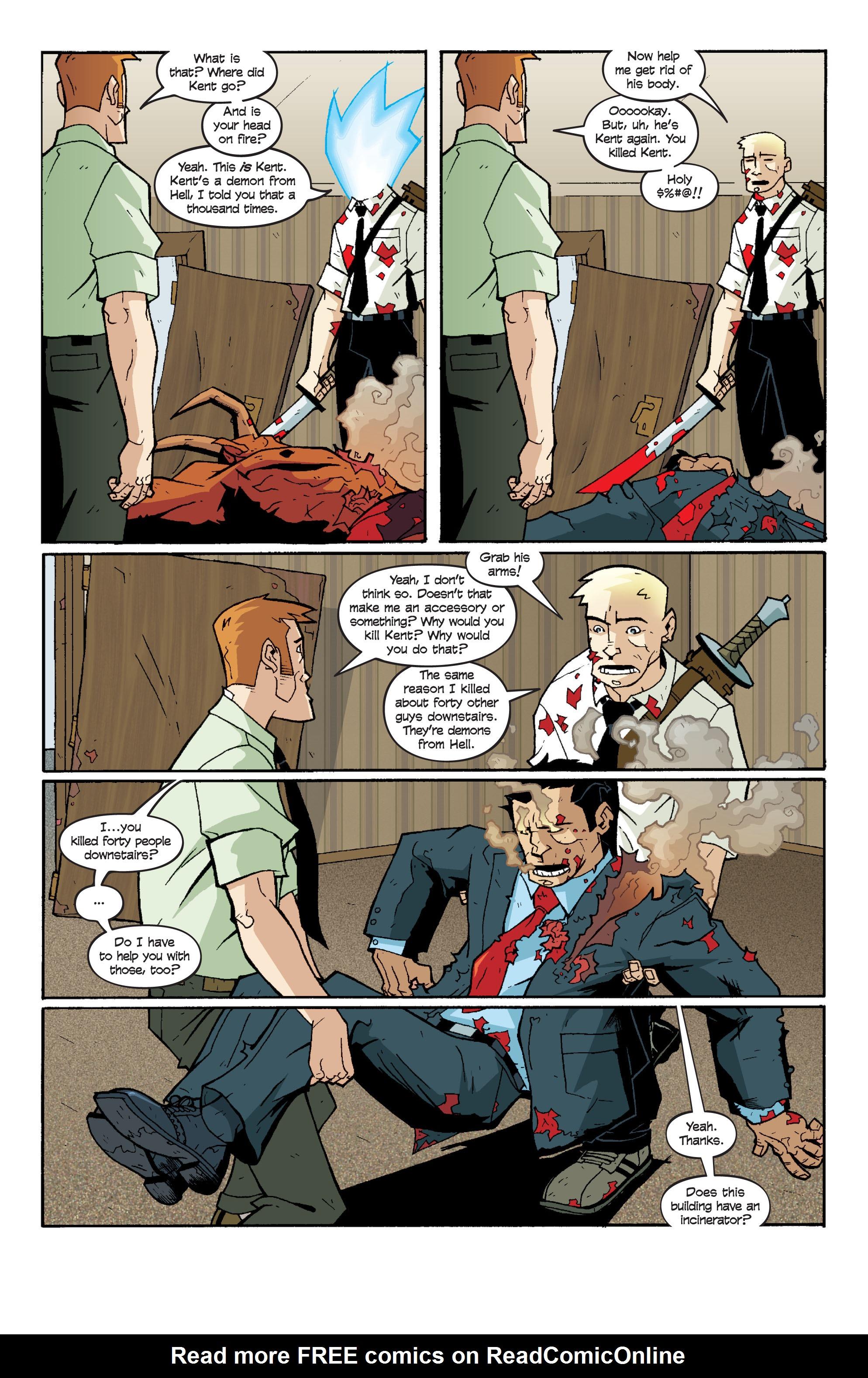 Read online Killer Of Demons comic -  Issue #3 - 28