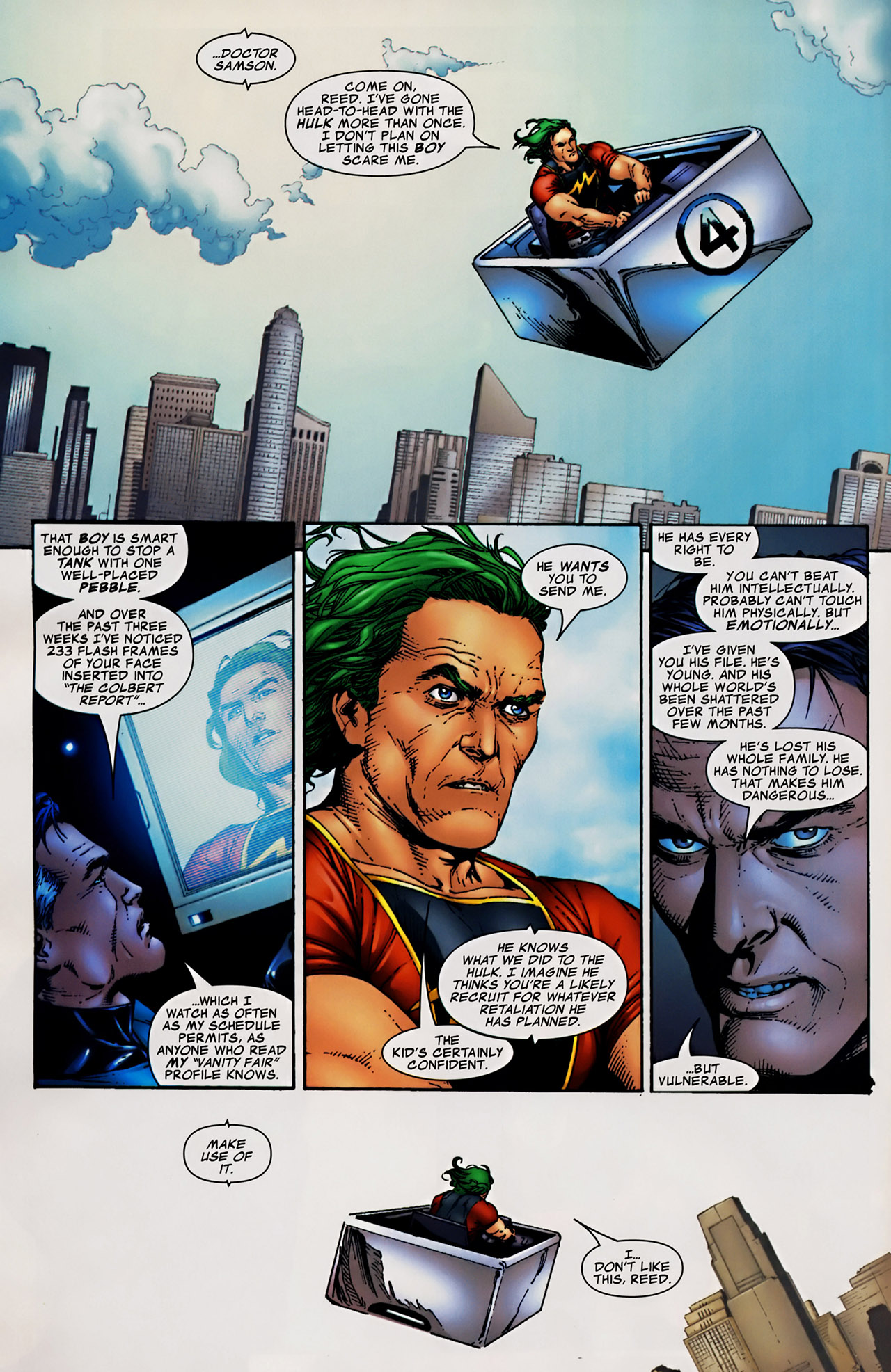 Read online The Incredible Hulk (2000) comic -  Issue #106 - 8
