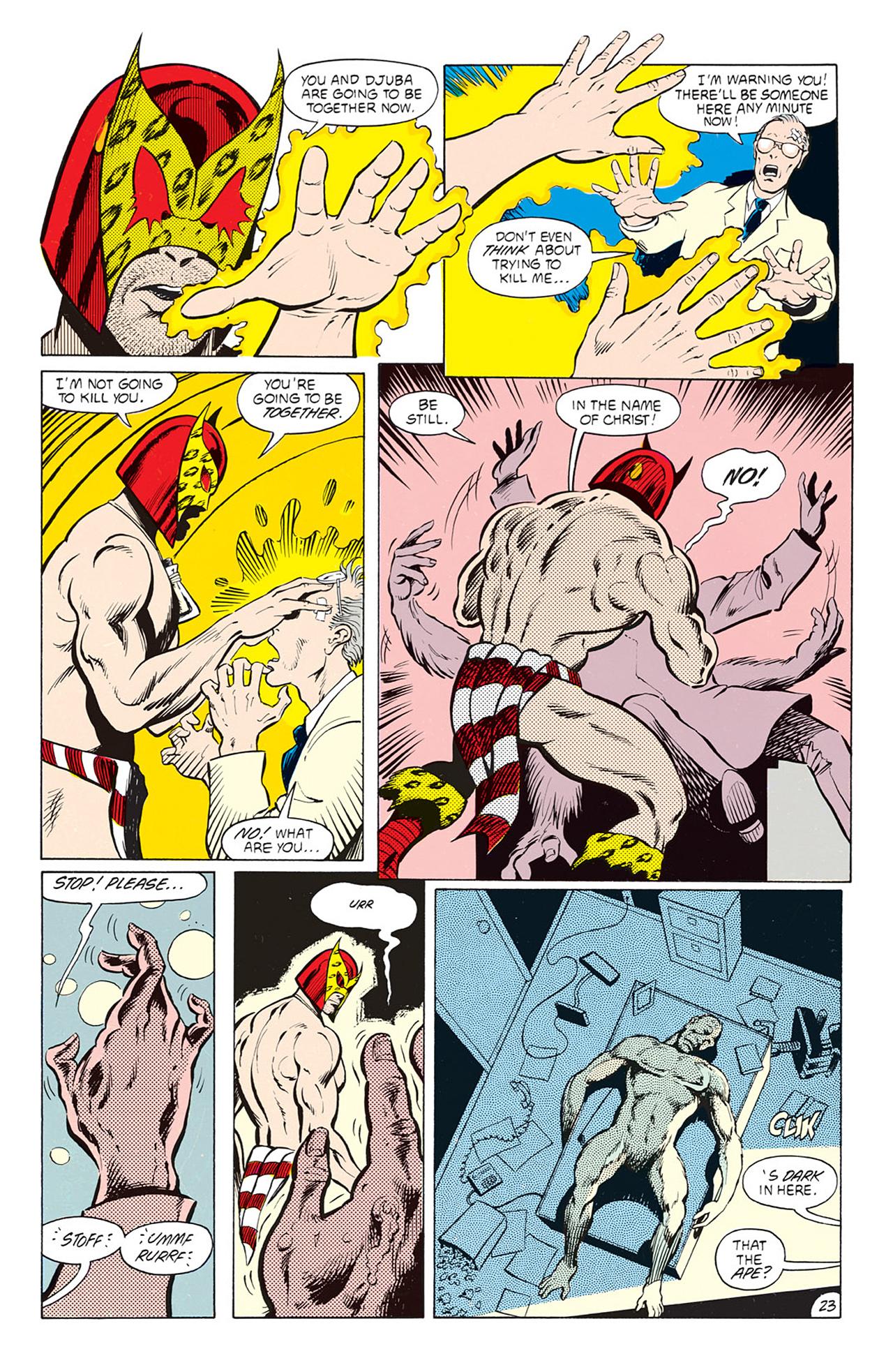 Read online Animal Man (1988) comic -  Issue #4 - 25