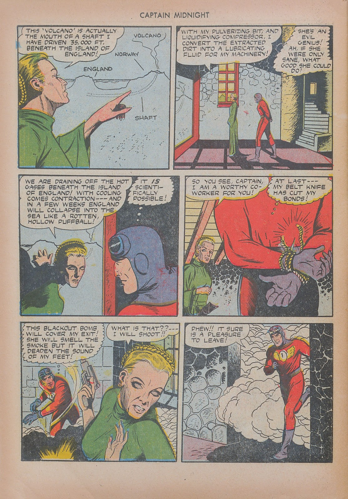 Captain Midnight (1942) issue 20 - Page 46
