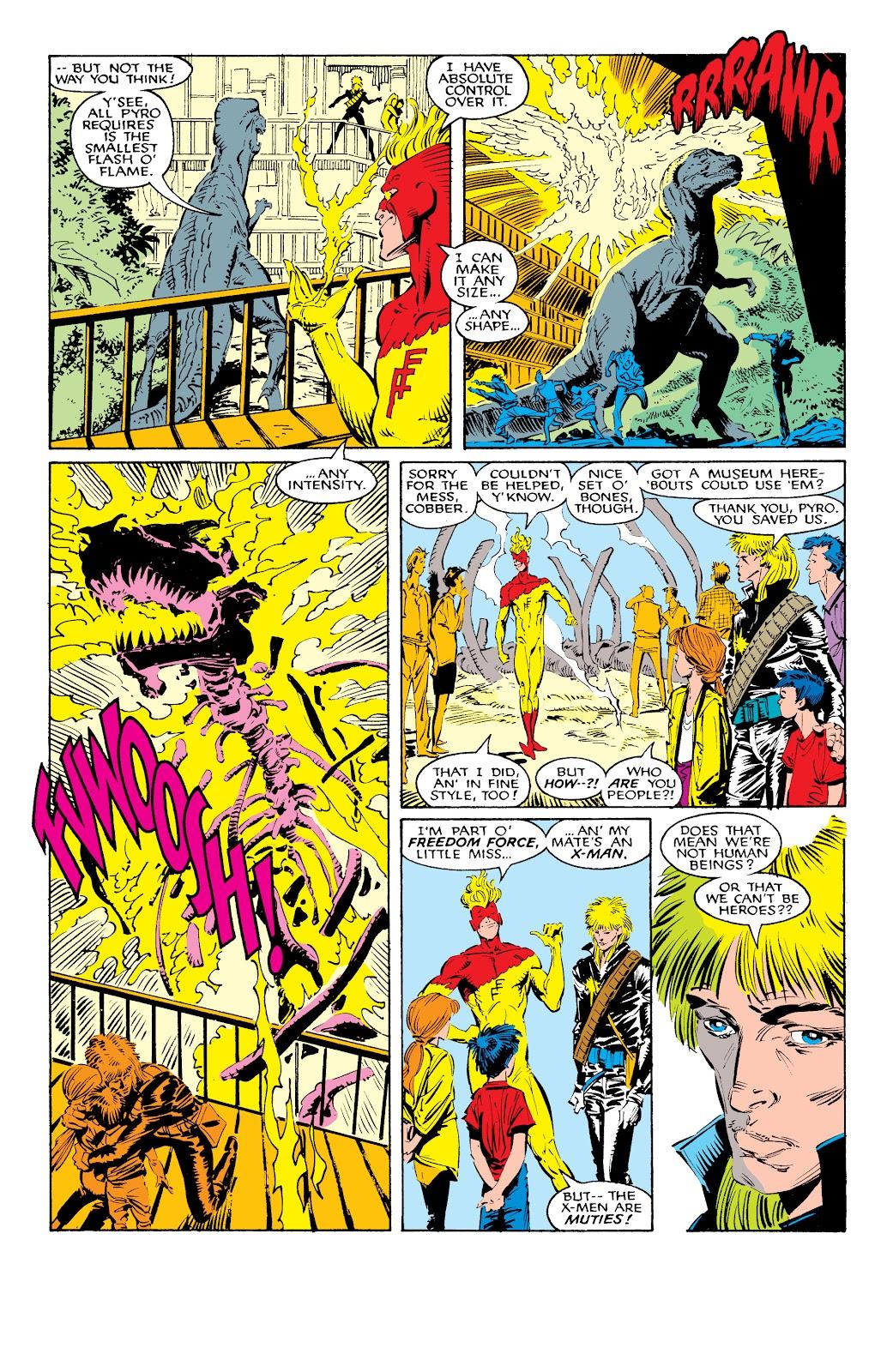 Read online X-Men Milestones: Fall of the Mutants comic -  Issue # TPB (Part 1) - 41