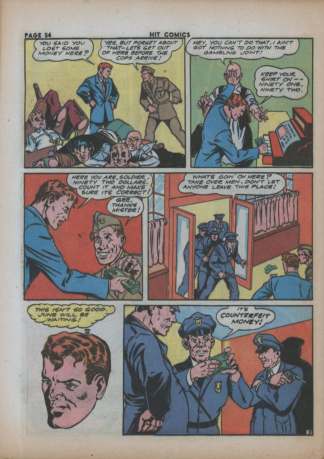 Read online Hit Comics comic -  Issue #26 - 55