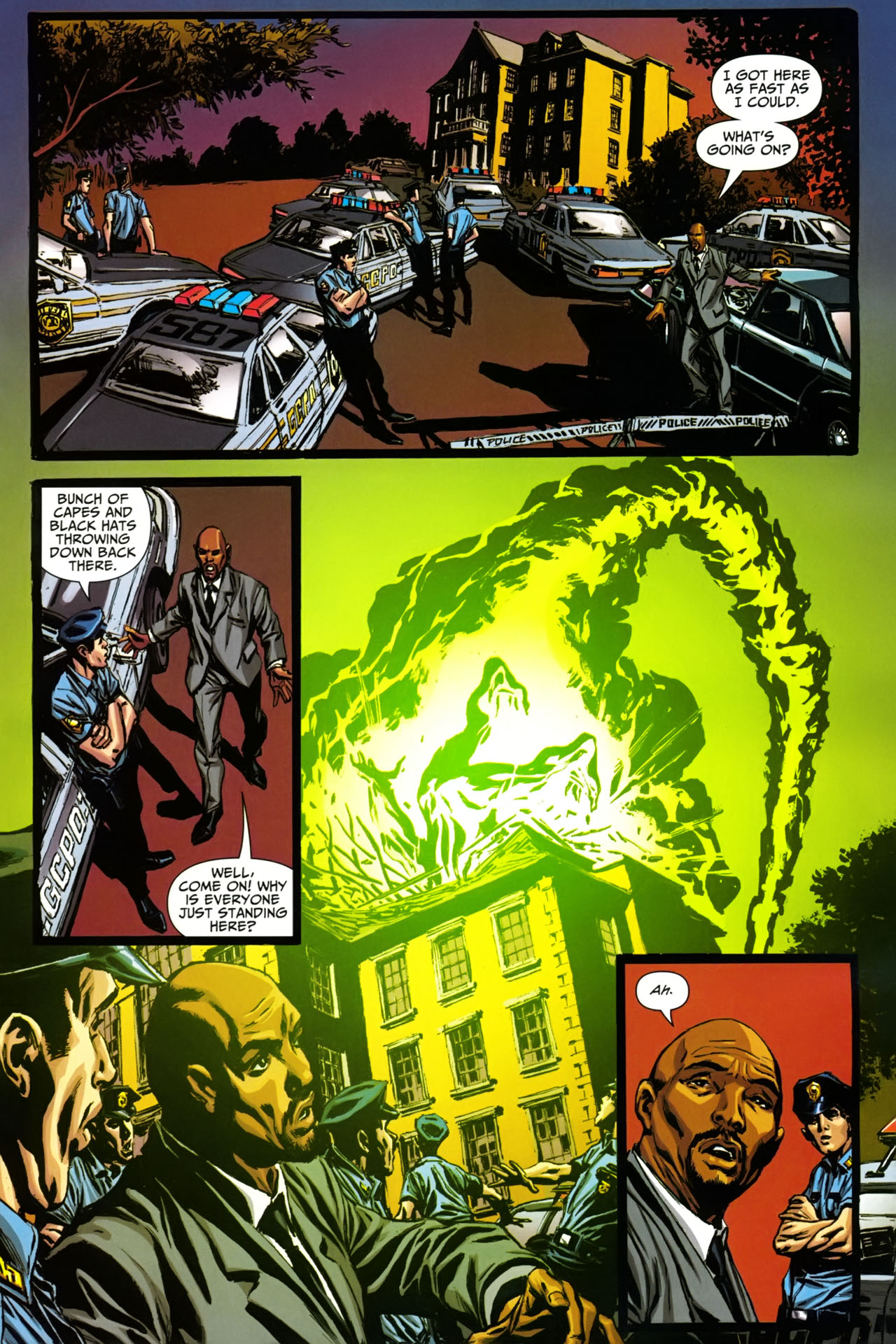 Read online Shadowpact comic -  Issue #19 - 12