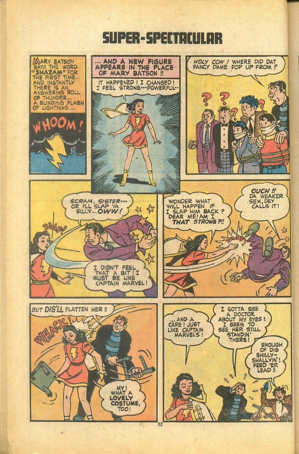 Read online Shazam! (1973) comic -  Issue #8 - 22