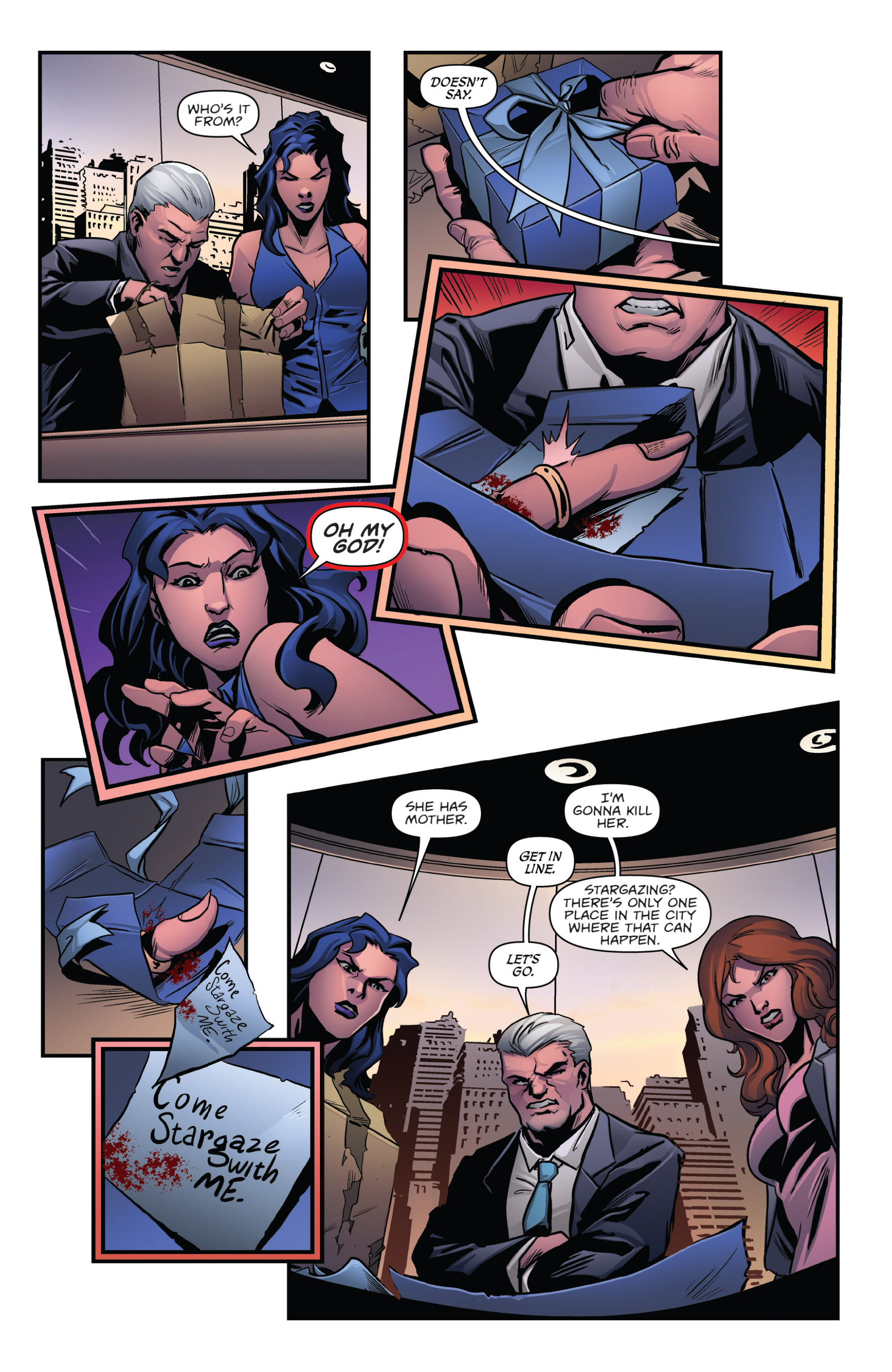 Read online Grimm Fairy Tales presents Goddess Inc. comic -  Issue #5 - 8