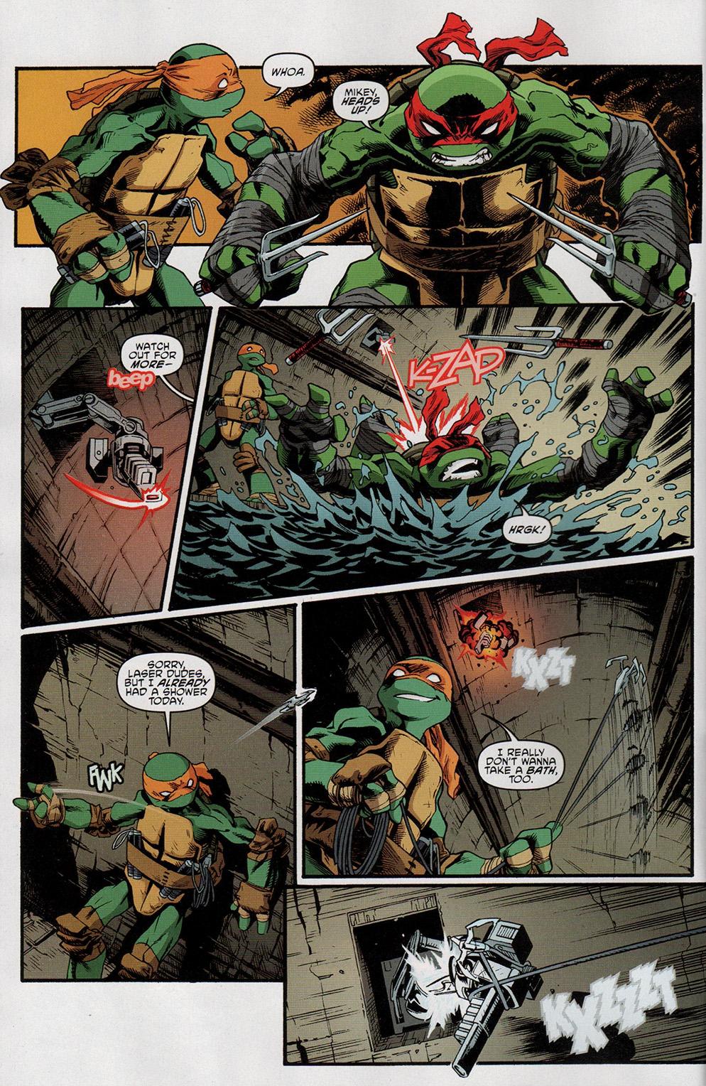 Read online Free Comic Book Day 2017 comic -  Issue # Teenage Mutant Ninja Turtles - 4