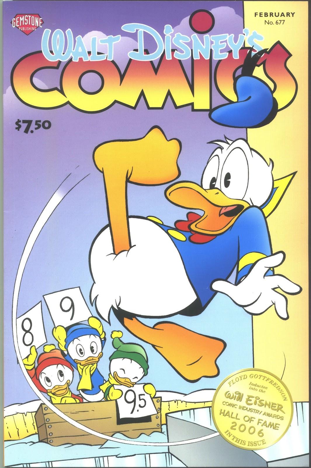 Walt Disneys Comics and Stories 677 Page 1