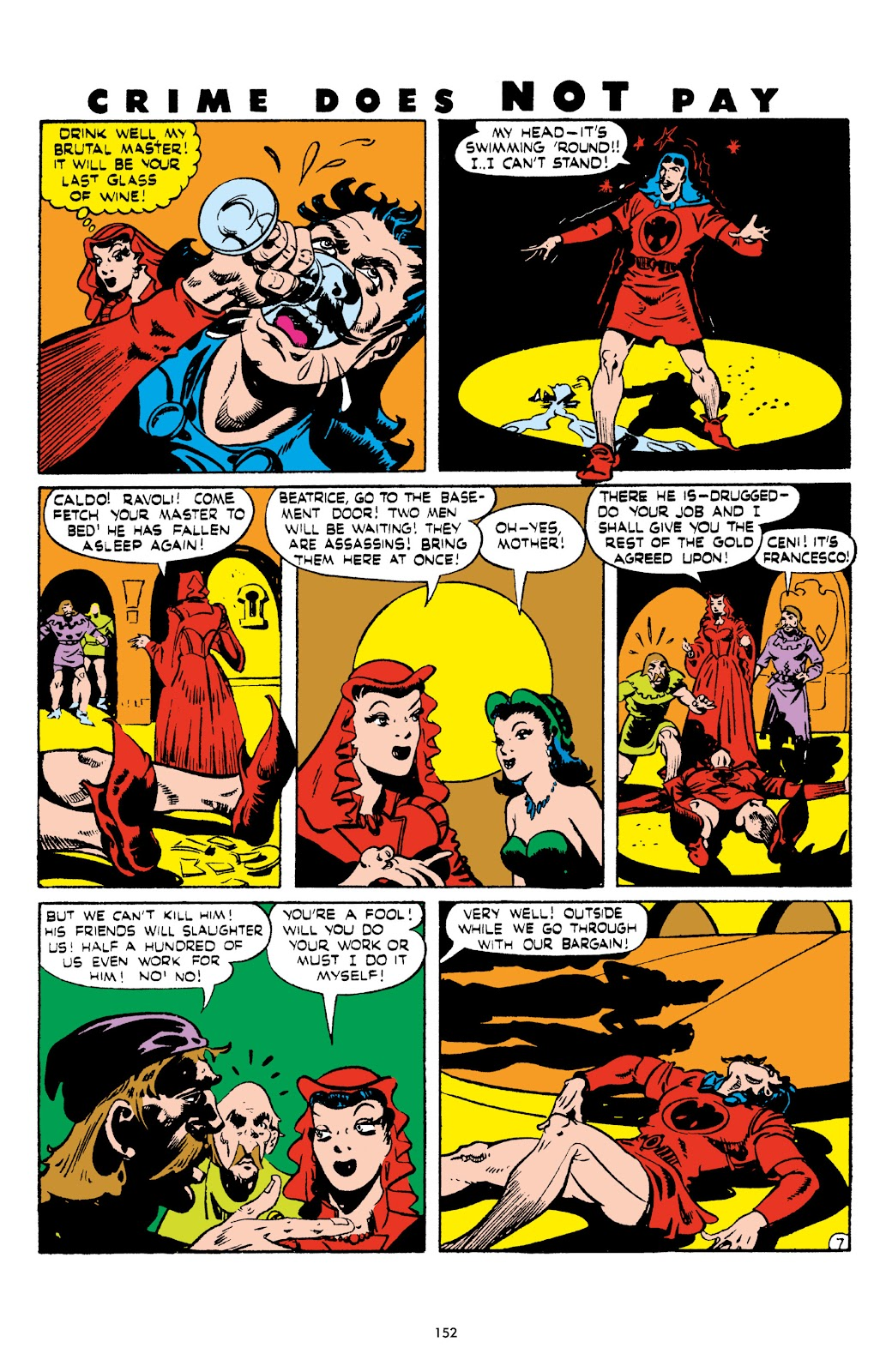 Read online Crime Does Not Pay Archives comic -  Issue # TPB 5 (Part 2) - 52