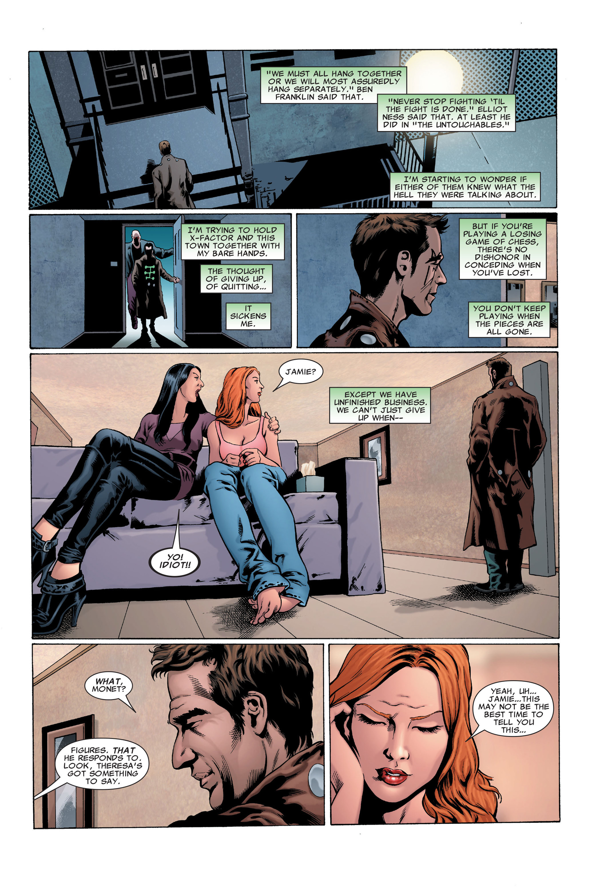 Read online X-Factor (2006) comic -  Issue #29 - 6