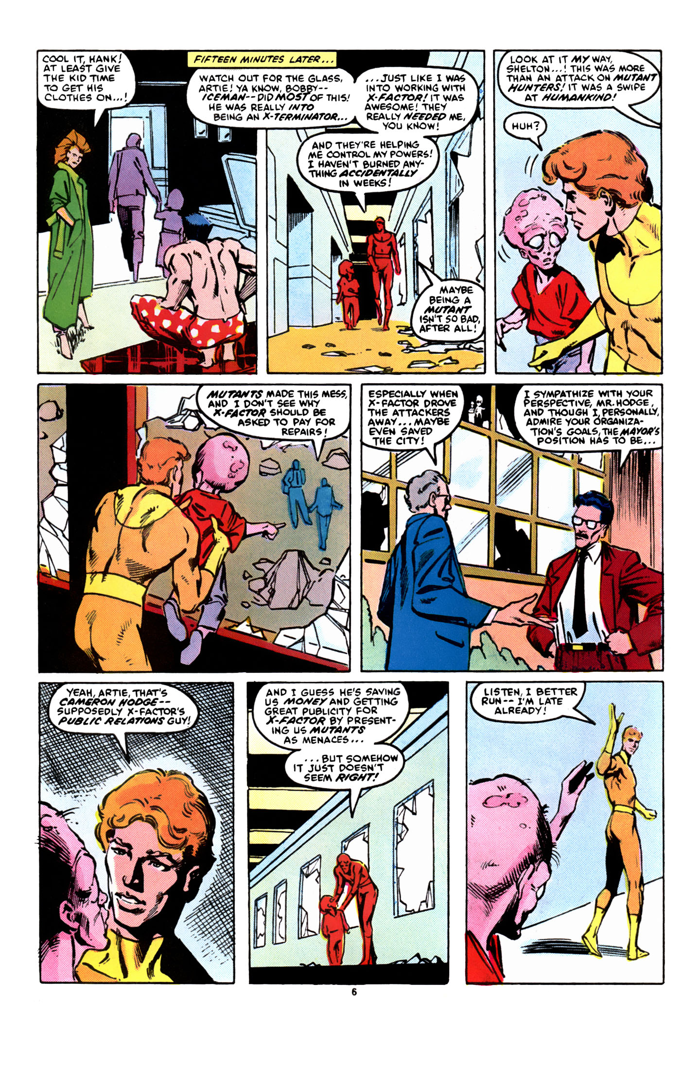 Read online X-Factor (1986) comic -  Issue #8 - 7