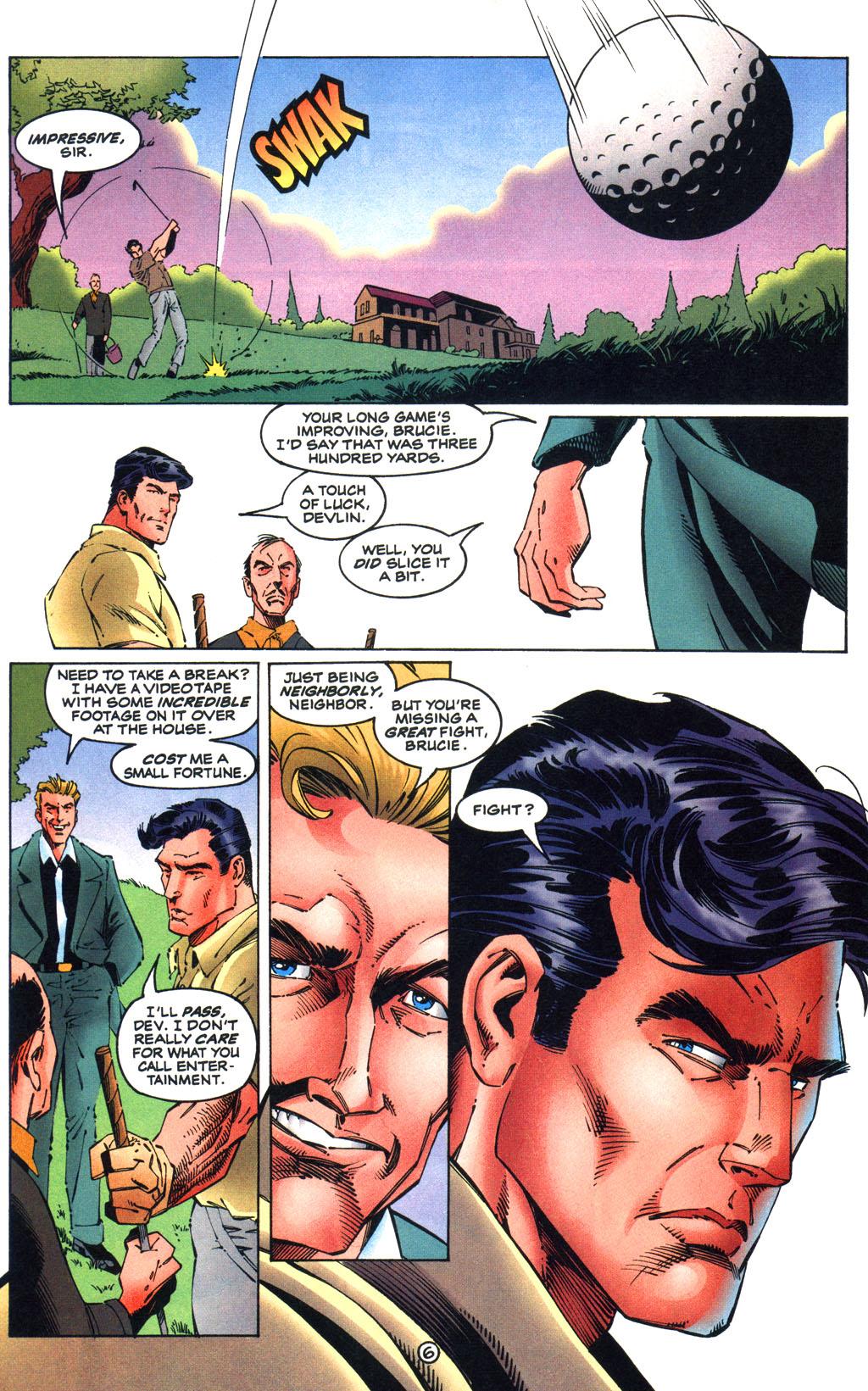 Read online Batman/Wildcat comic -  Issue #1 - 6
