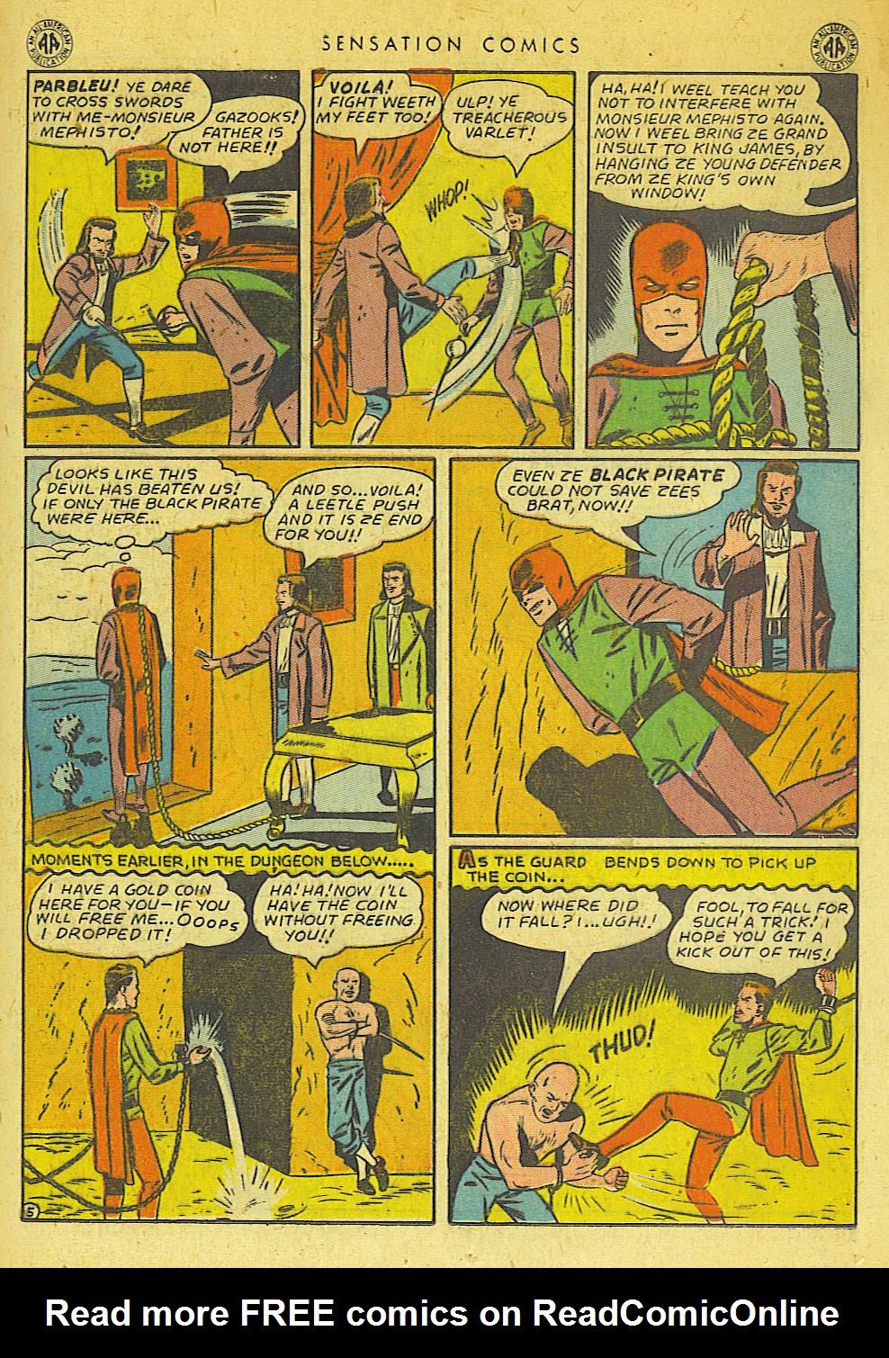 Read online Sensation (Mystery) Comics comic -  Issue #42 - 29