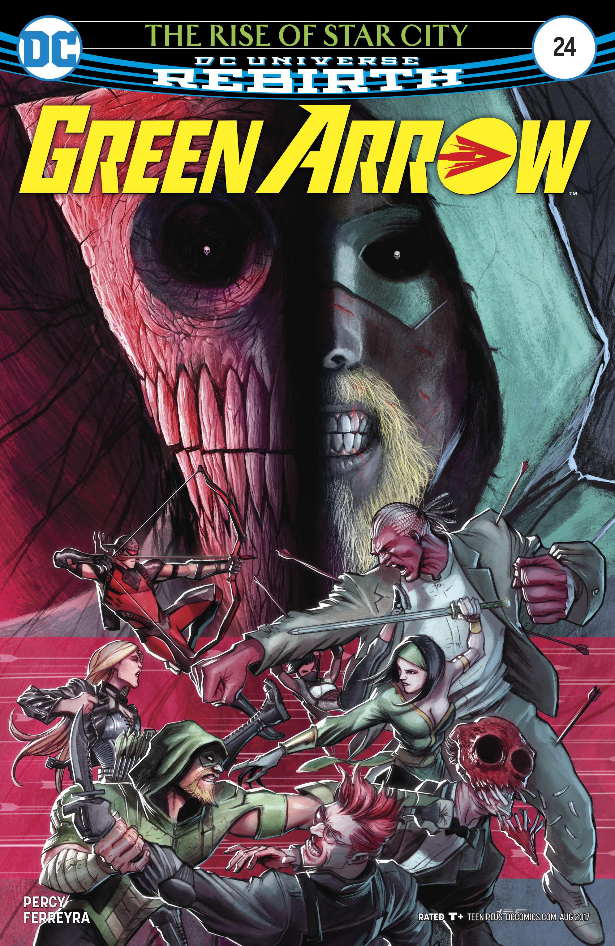 Read online Green Arrow (2016) comic -  Issue #24 - 1