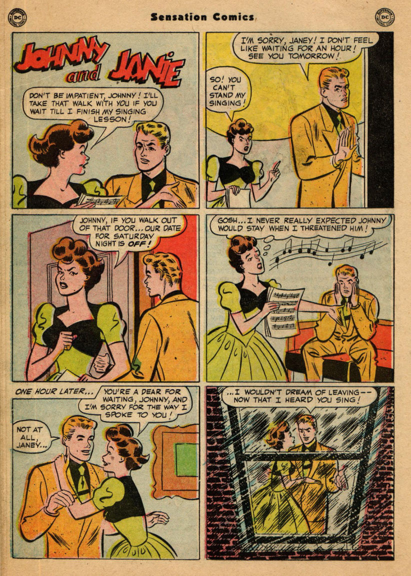 Read online Sensation (Mystery) Comics comic -  Issue #100 - 38