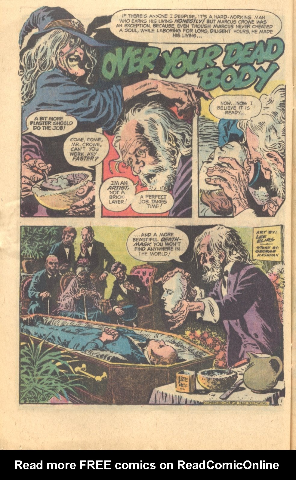 The Witching Hour (1969) issue 60 - Page 16