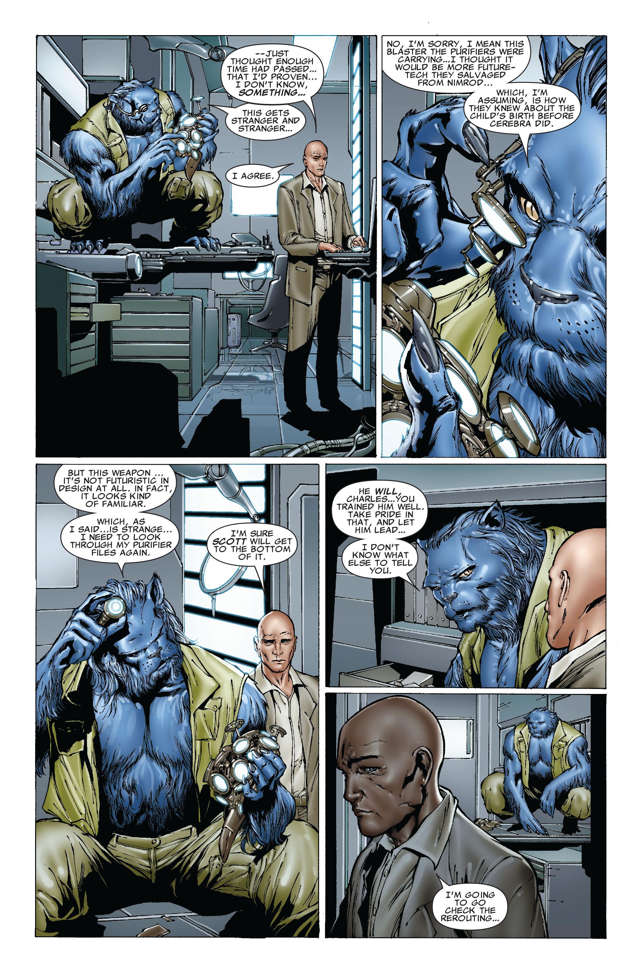 Read online Uncanny X-Men (1963) comic -  Issue #492 - 17