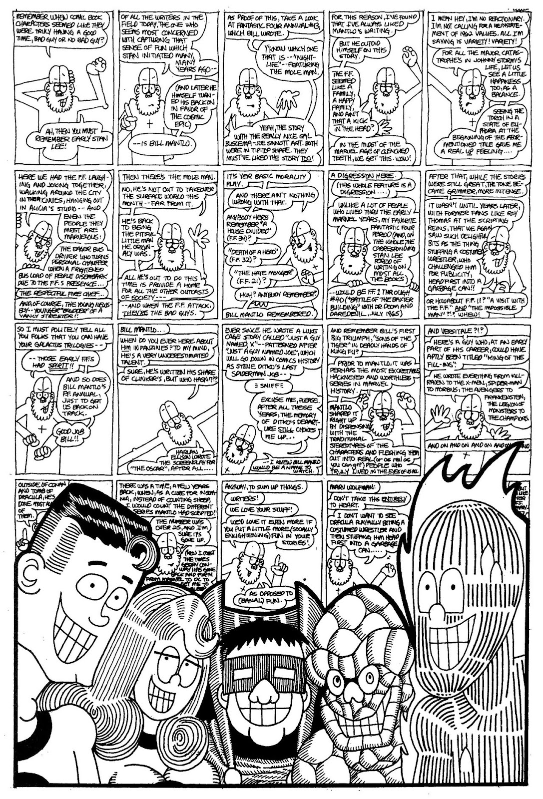 Read online The Nearly Complete Essential Hembeck Archives Omnibus comic -  Issue # TPB (Part 1) - 45