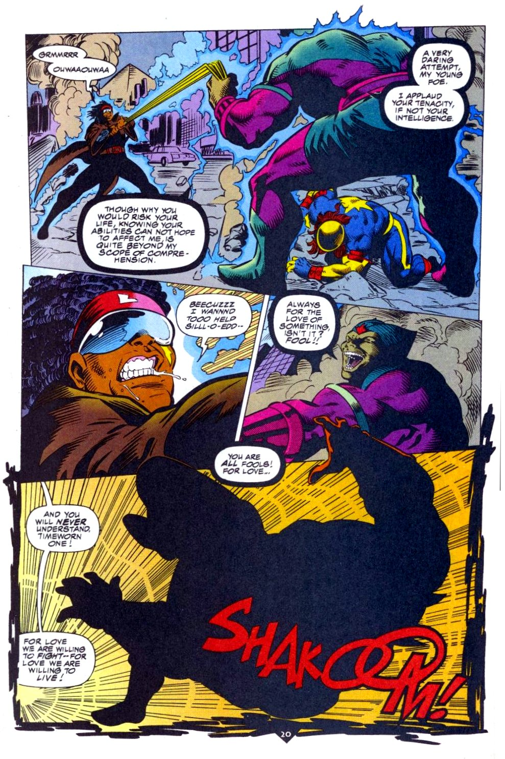 The New Warriors Issue #50 #54 - English 17