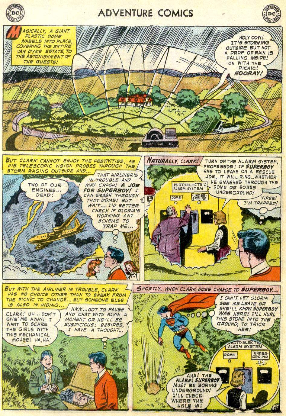 Read online Adventure Comics (1938) comic -  Issue #246 - 12