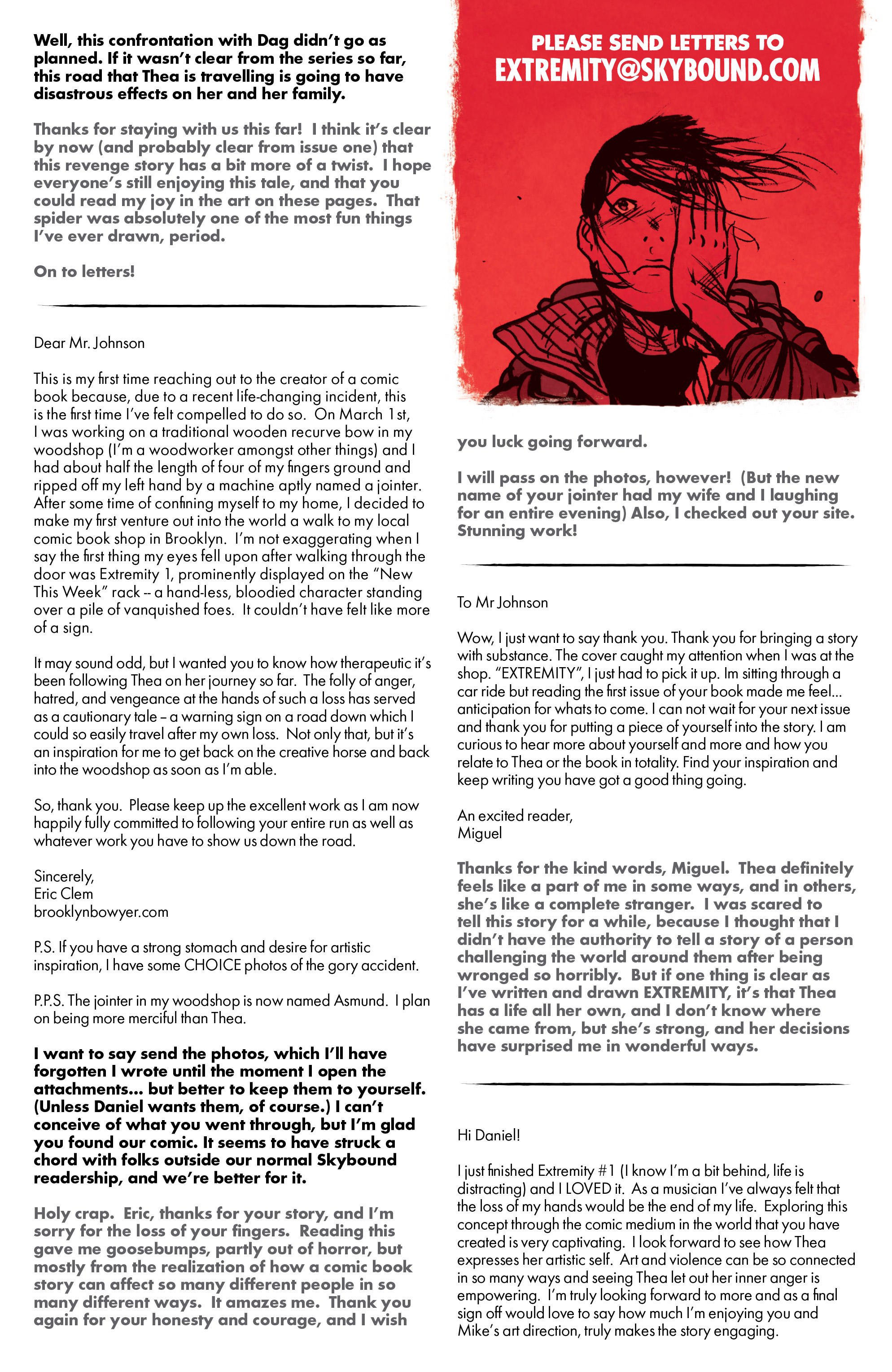 Read online Extremity comic -  Issue #4 - 27
