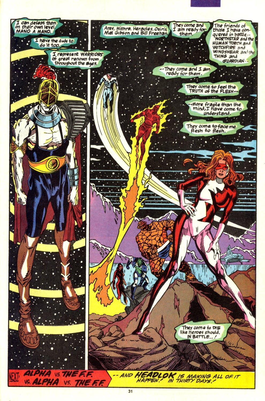 Read online Alpha Flight (1983) comic -  Issue #93 - 25