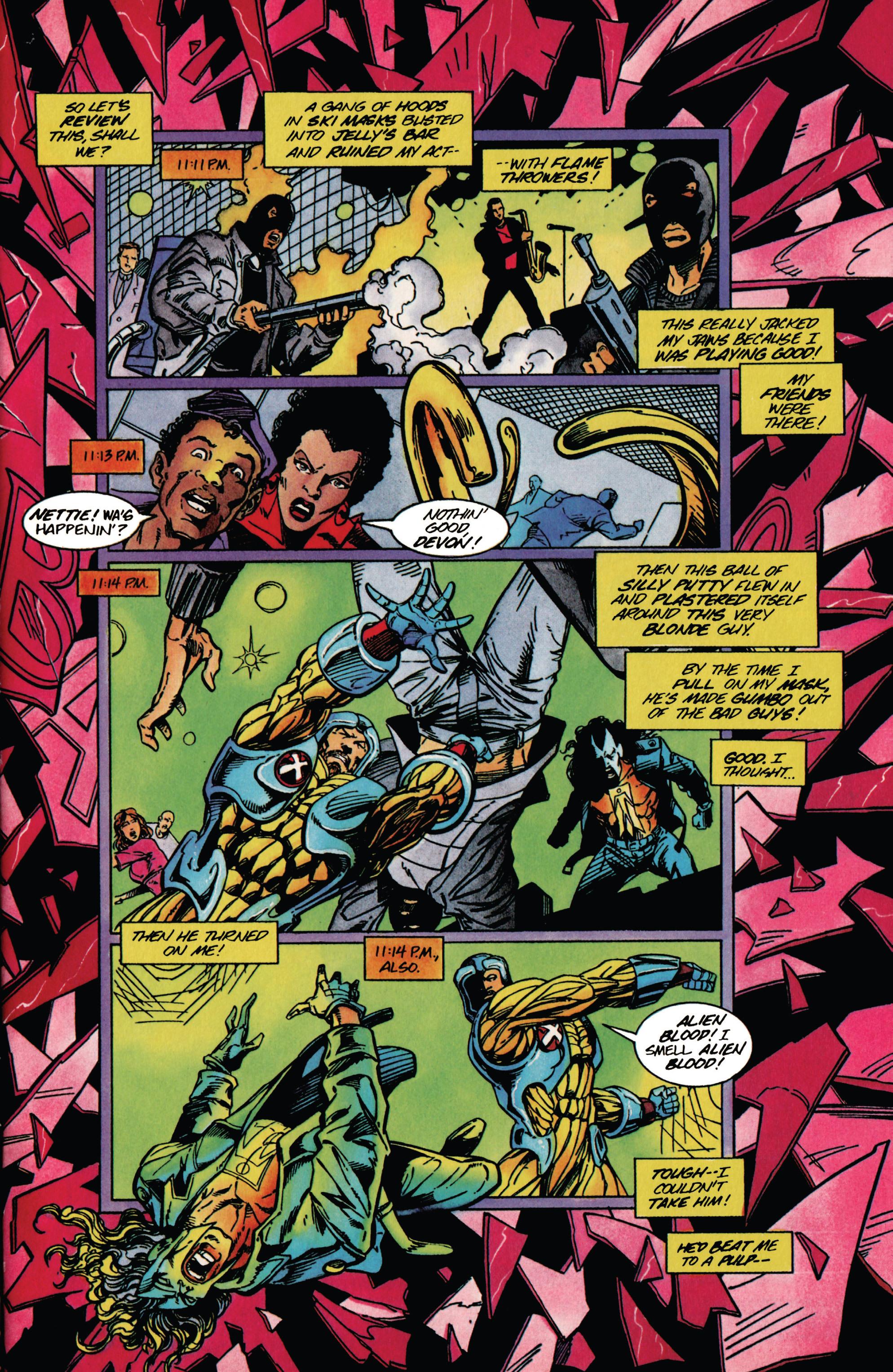 Read online Shadowman (1992) comic -  Issue #37 - 4