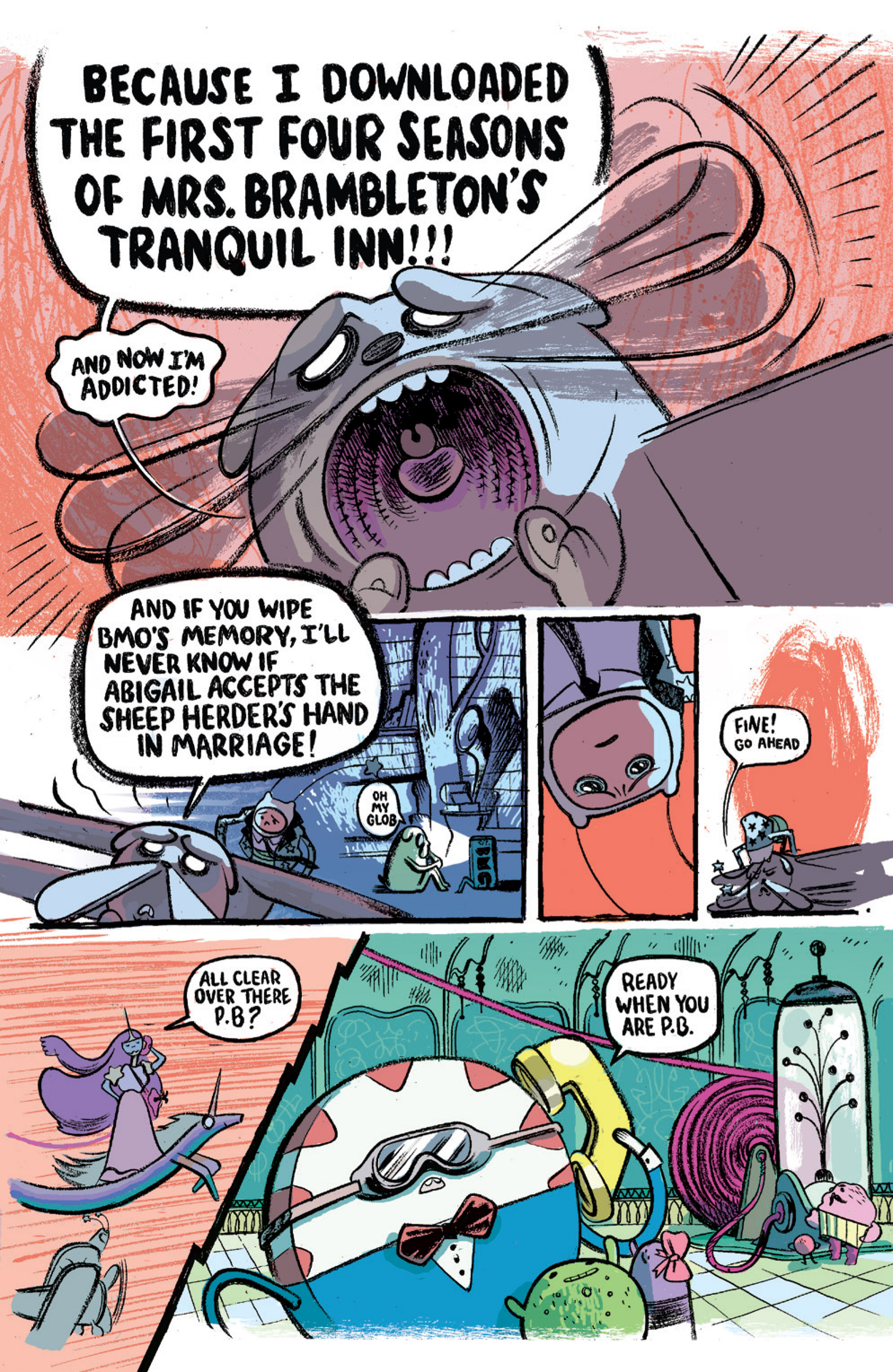Read online Adventure Time comic -  Issue #15 - 26