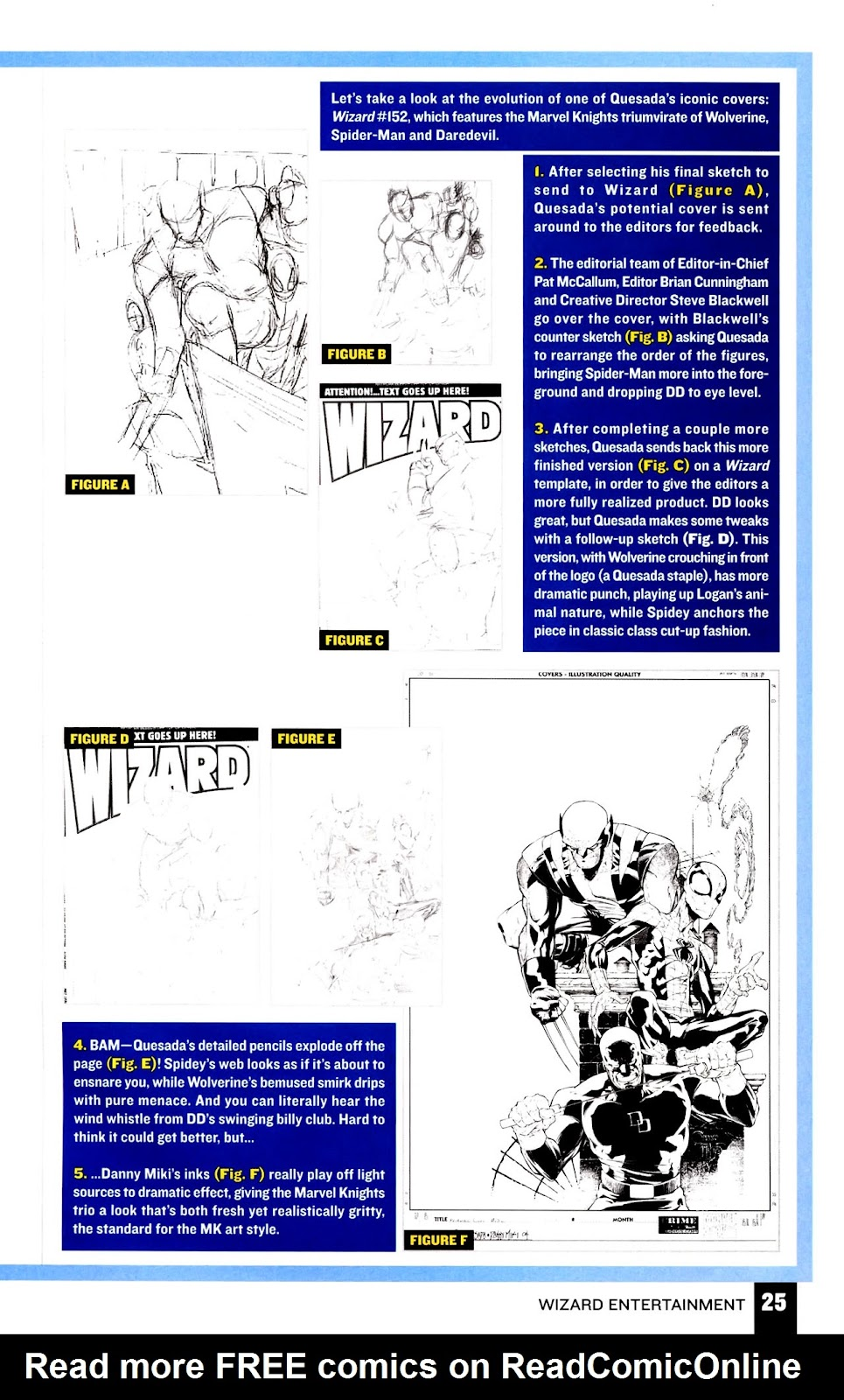Read online Wizard How to Draw Sampler comic -  Issue # Full - 26