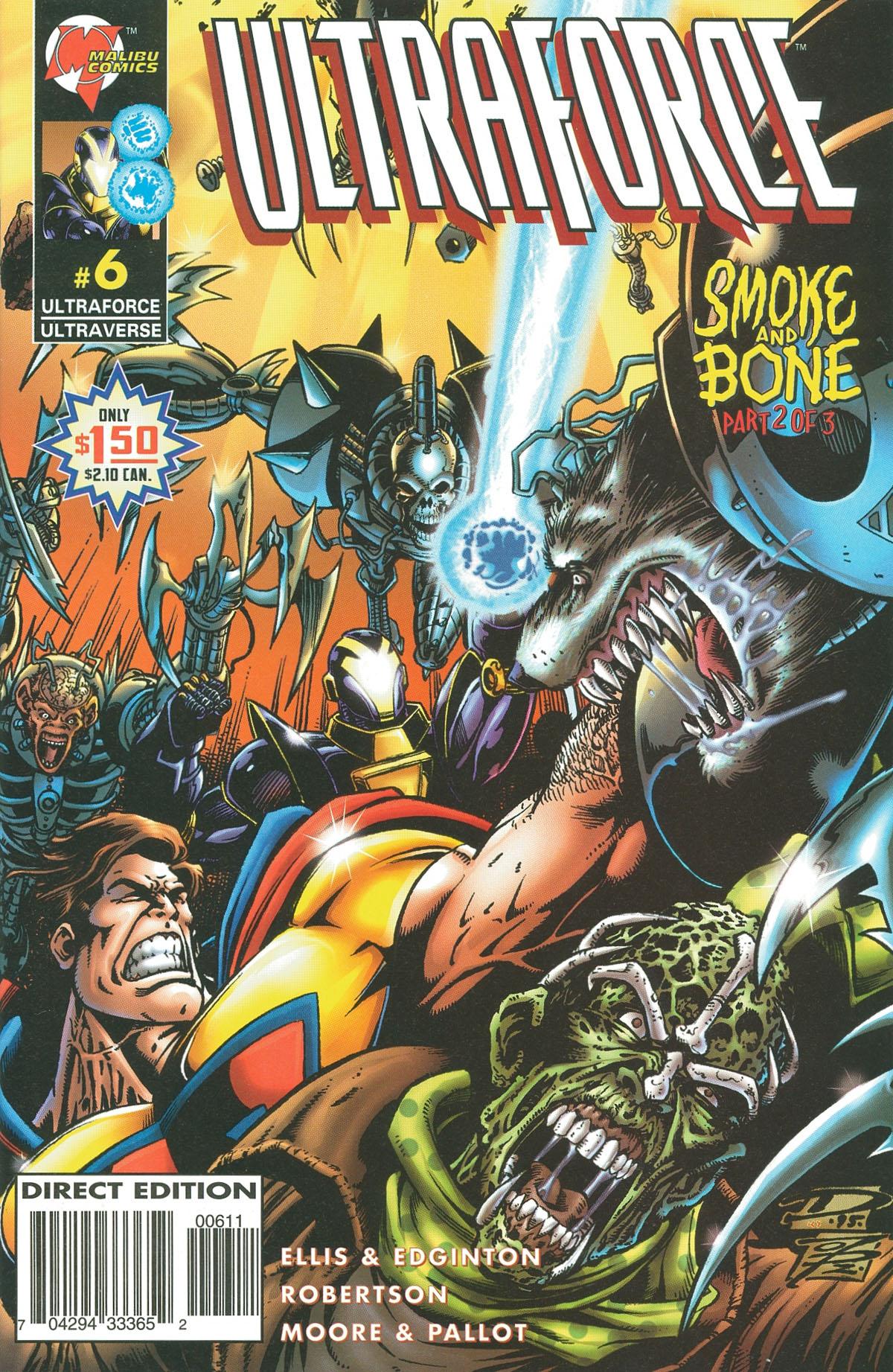 Read online UltraForce (1995) comic -  Issue #6 - 1