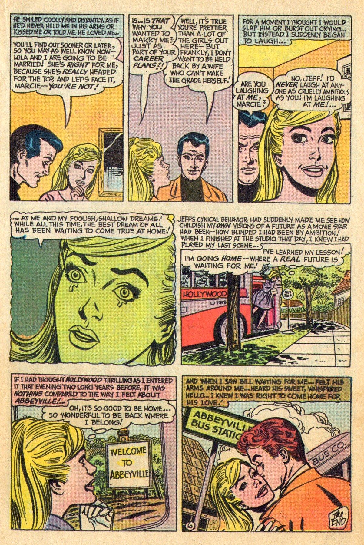 Read online Secret Hearts comic -  Issue #136 - 15