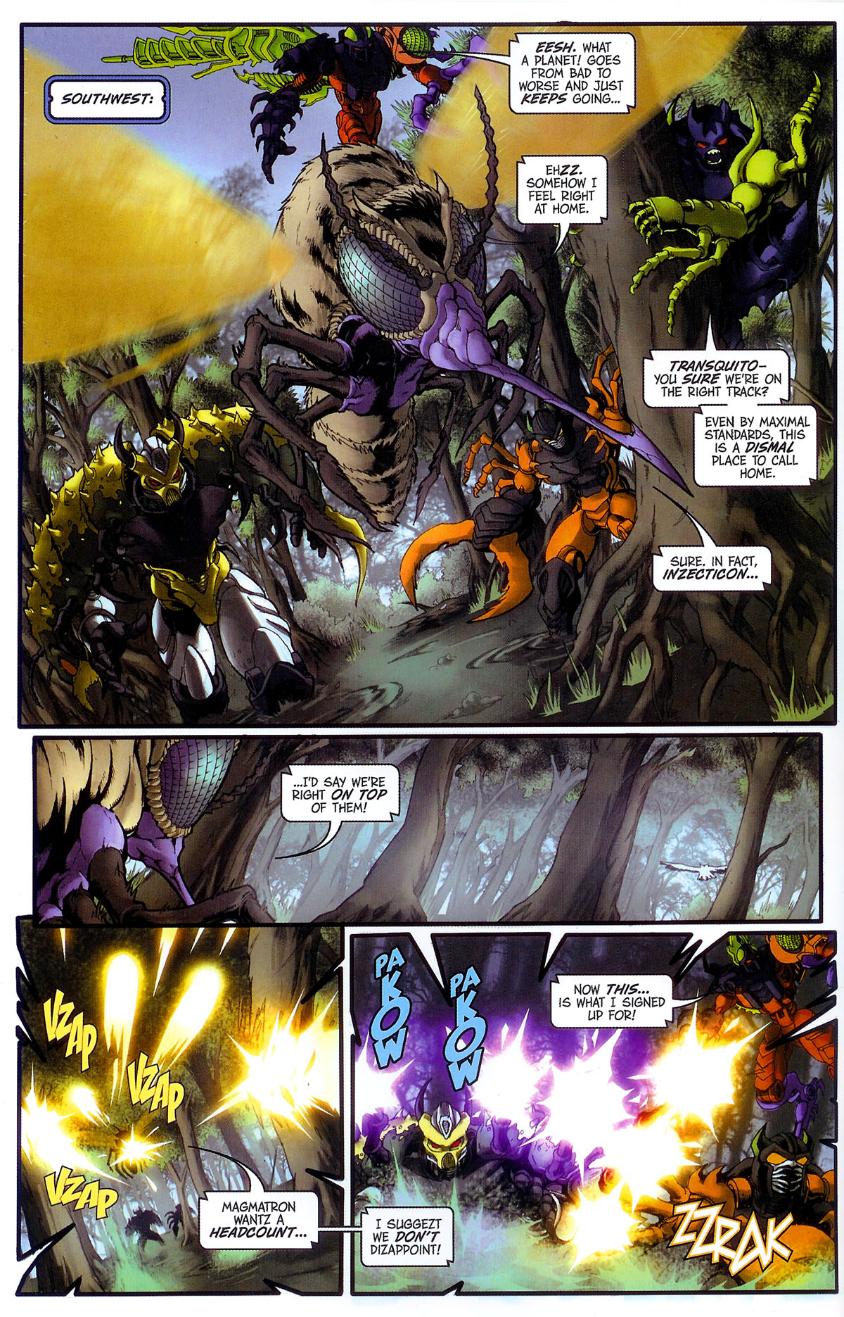 Read online Transformers, Beast Wars: The Gathering comic -  Issue #3 - 9
