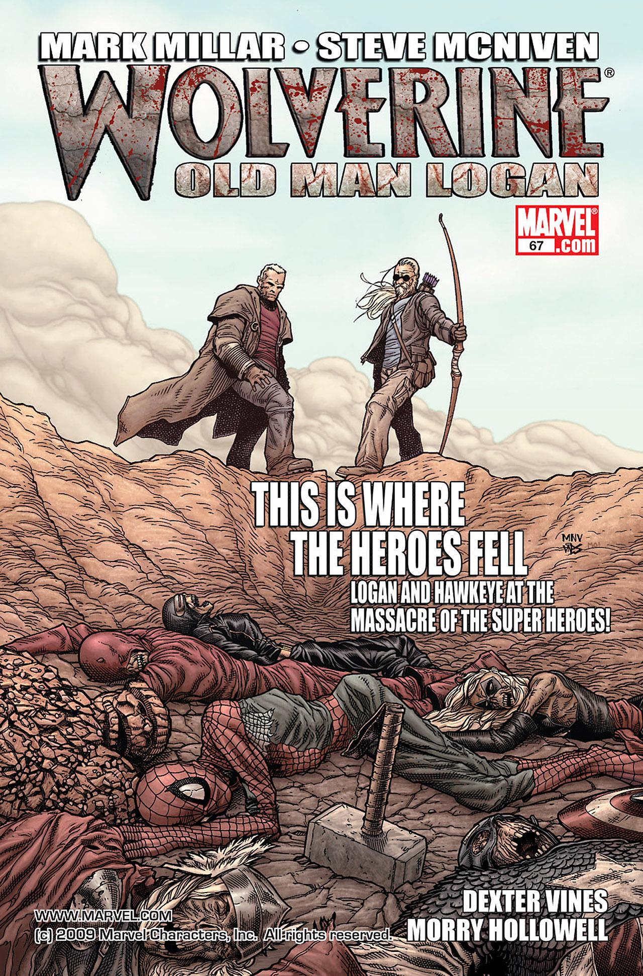 Read online Wolverine: Old Man Logan comic -  Issue # Full - 25