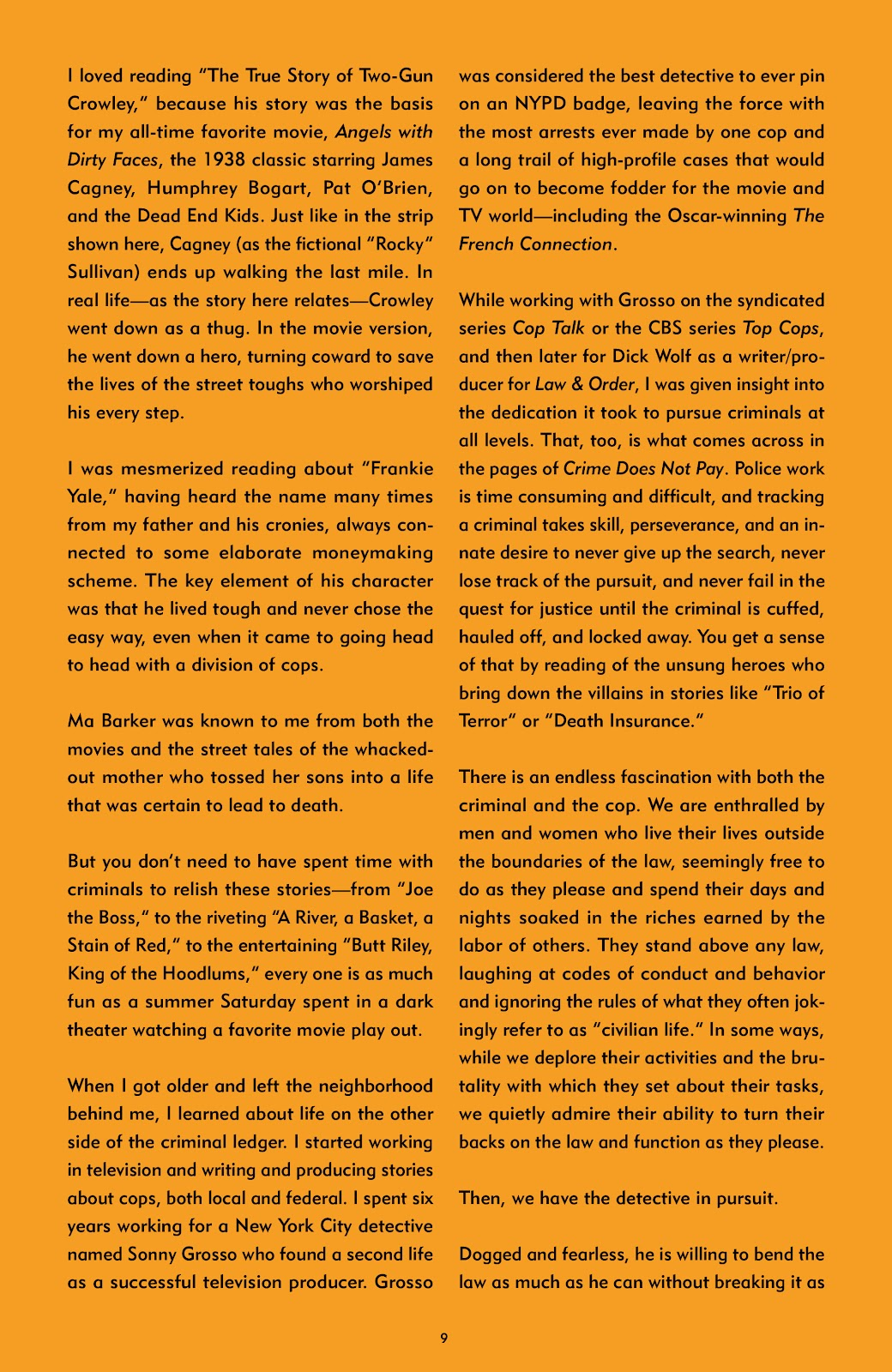 Read online Crime Does Not Pay Archives comic -  Issue # TPB 7 (Part 1) - 9