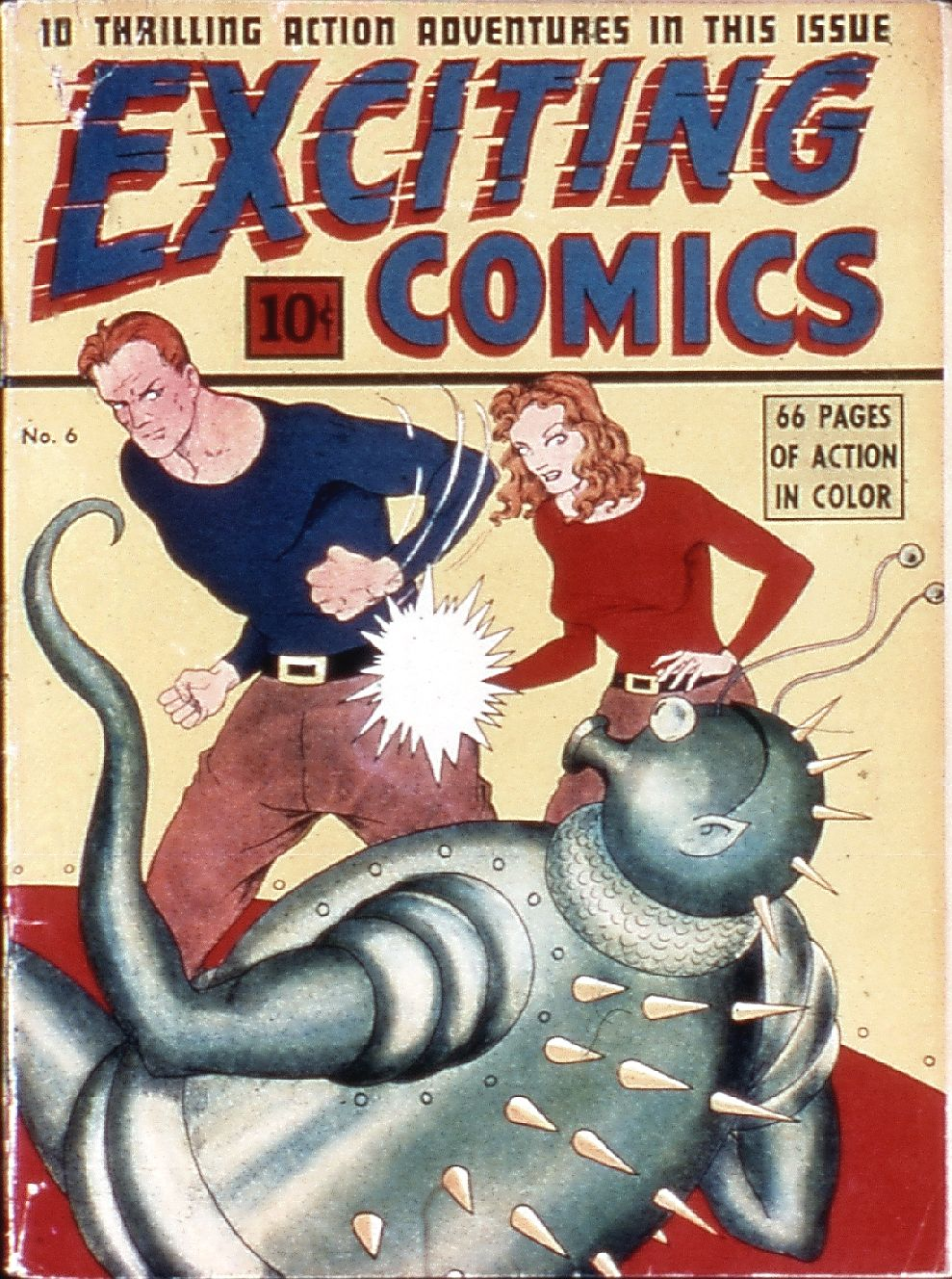 Exciting Comics (1940) 6 Page 1