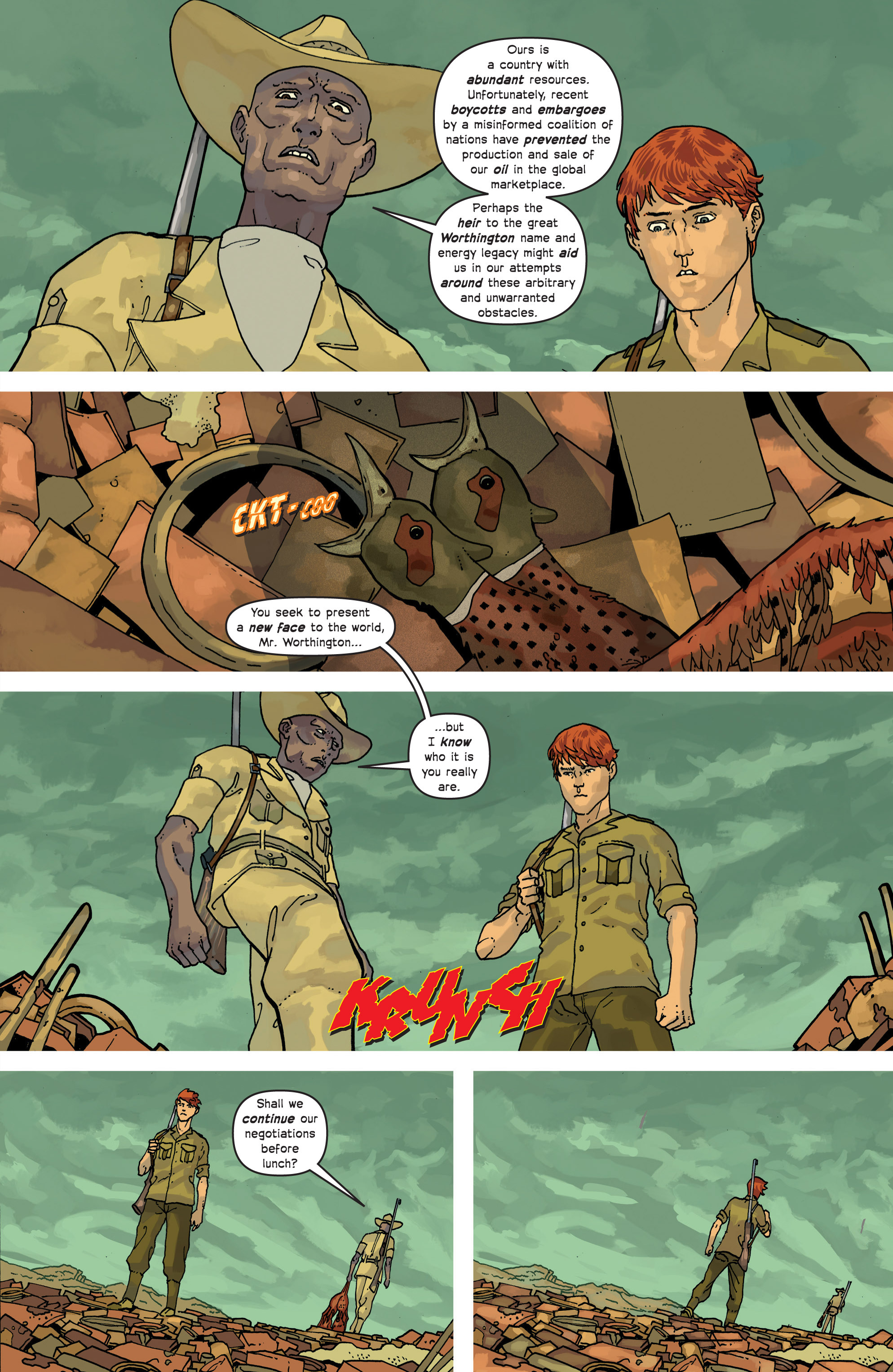 Read online Great Pacific comic -  Issue #9 - 18