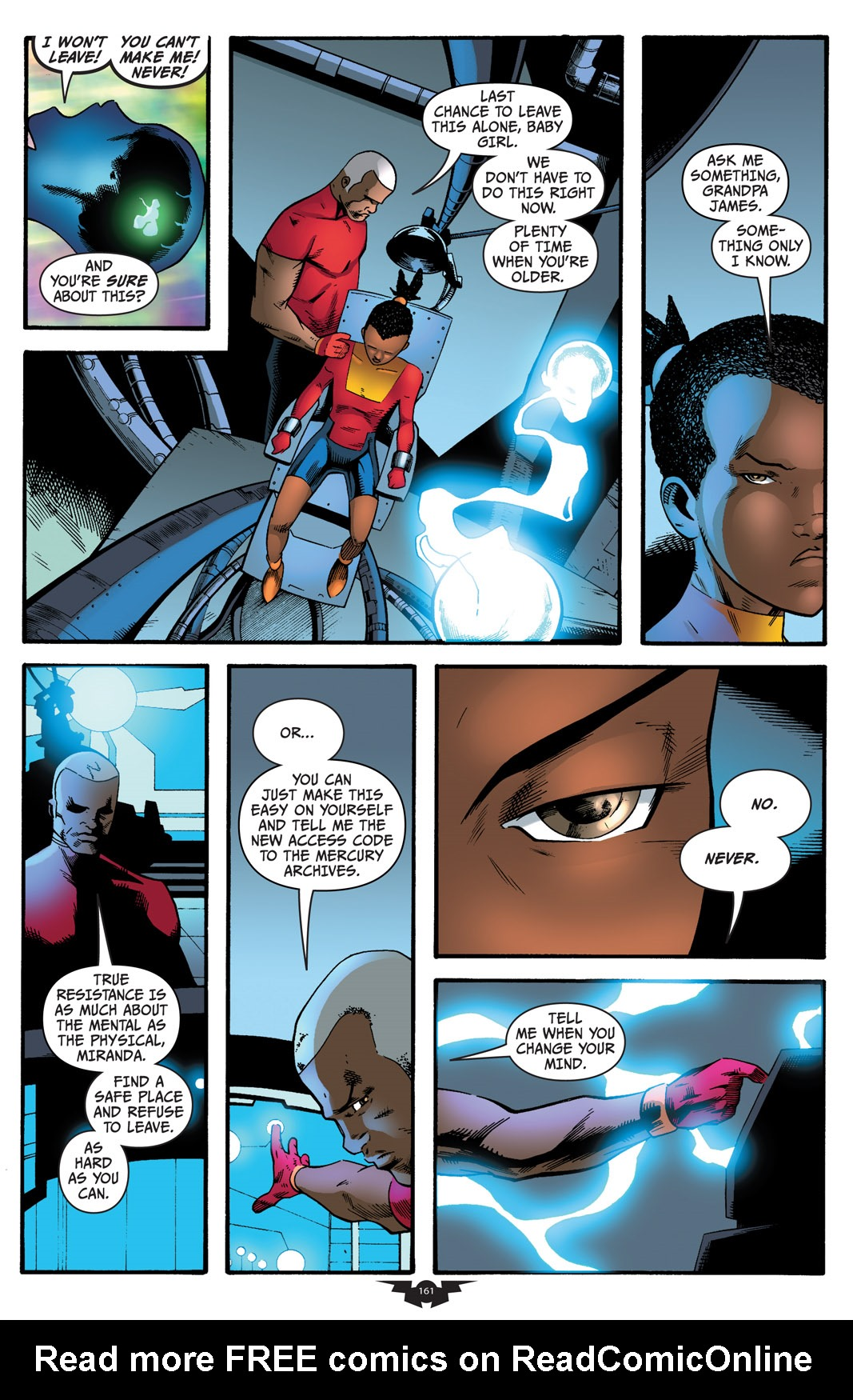 Read online The Many Adventures of Miranda Mercury: Time Runs Out comic -  Issue # TPB - 160