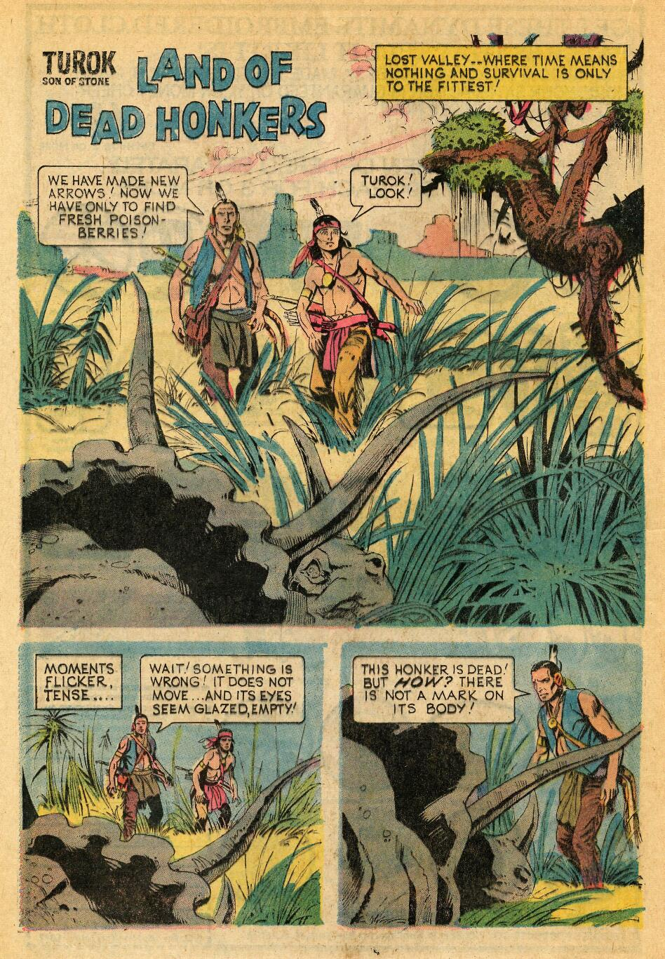 Read online Turok, Son of Stone comic -  Issue #88 - 20