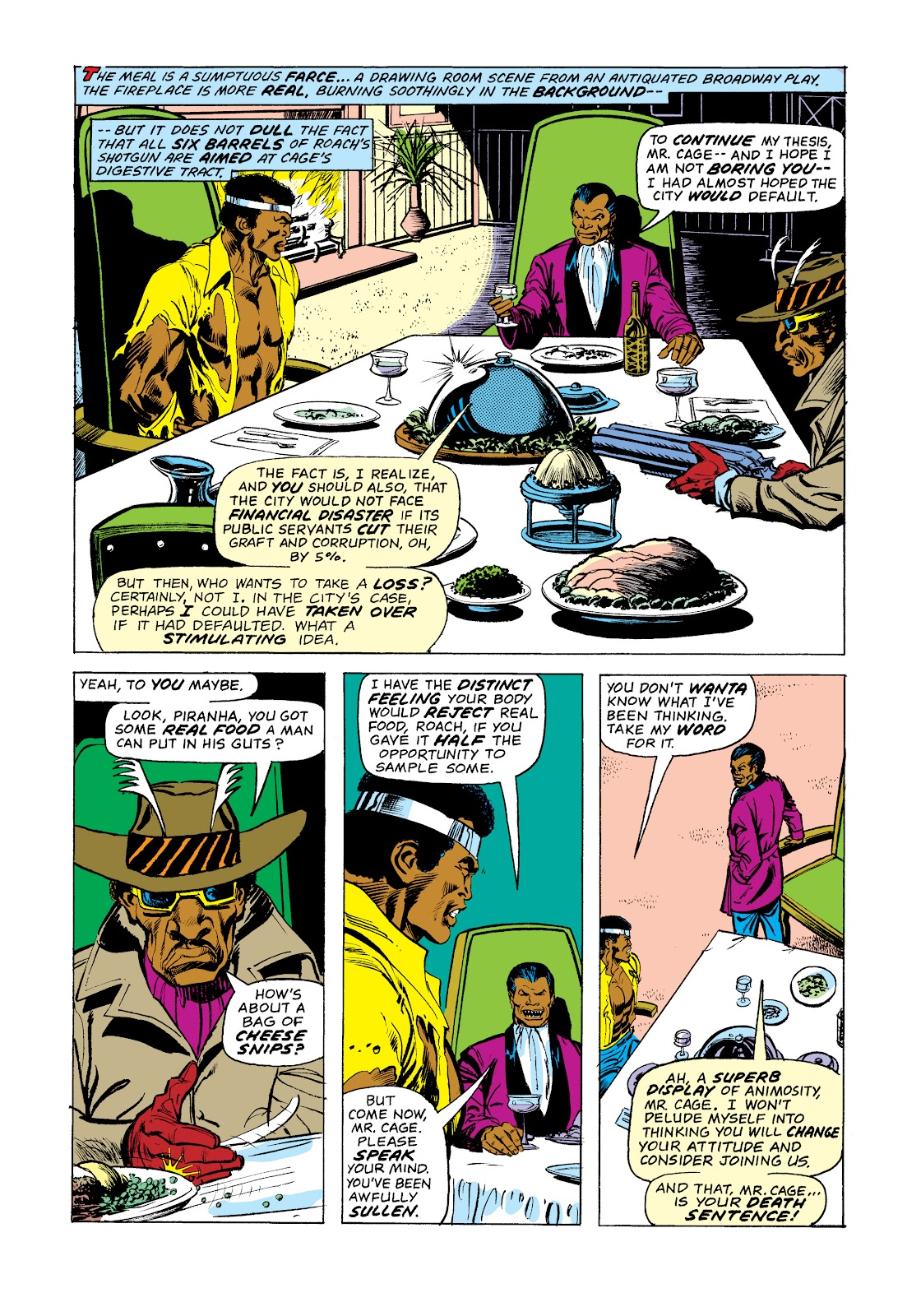 Read online Marvel Masterworks: Luke Cage, Power Man comic -  Issue # TPB 2 (Part 3) - 88