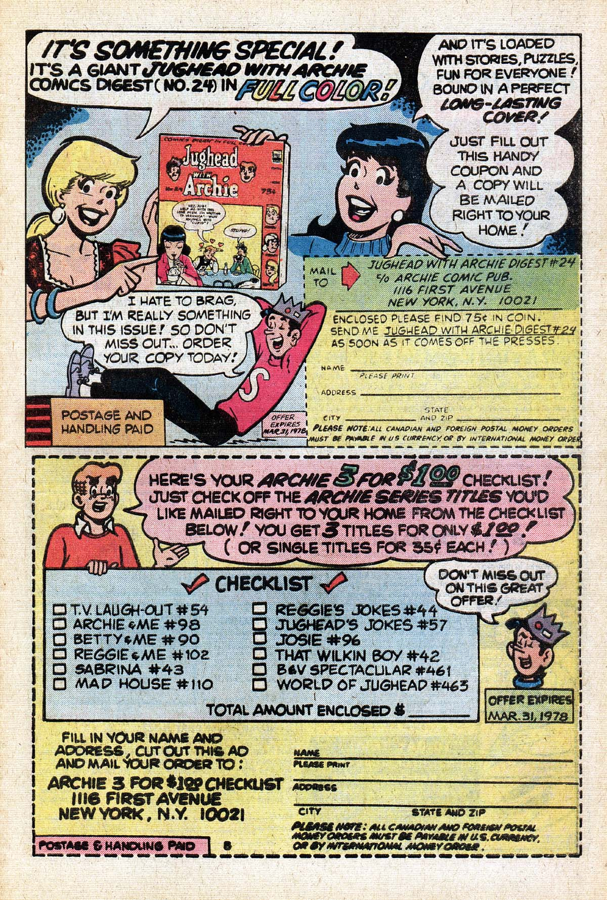 Read online Archie (1960) comic -  Issue #267 - 27
