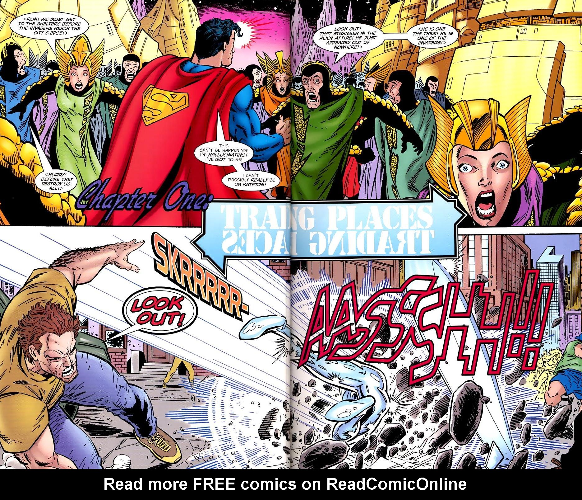 Read online Silver Surfer/Superman comic -  Issue # Full - 7