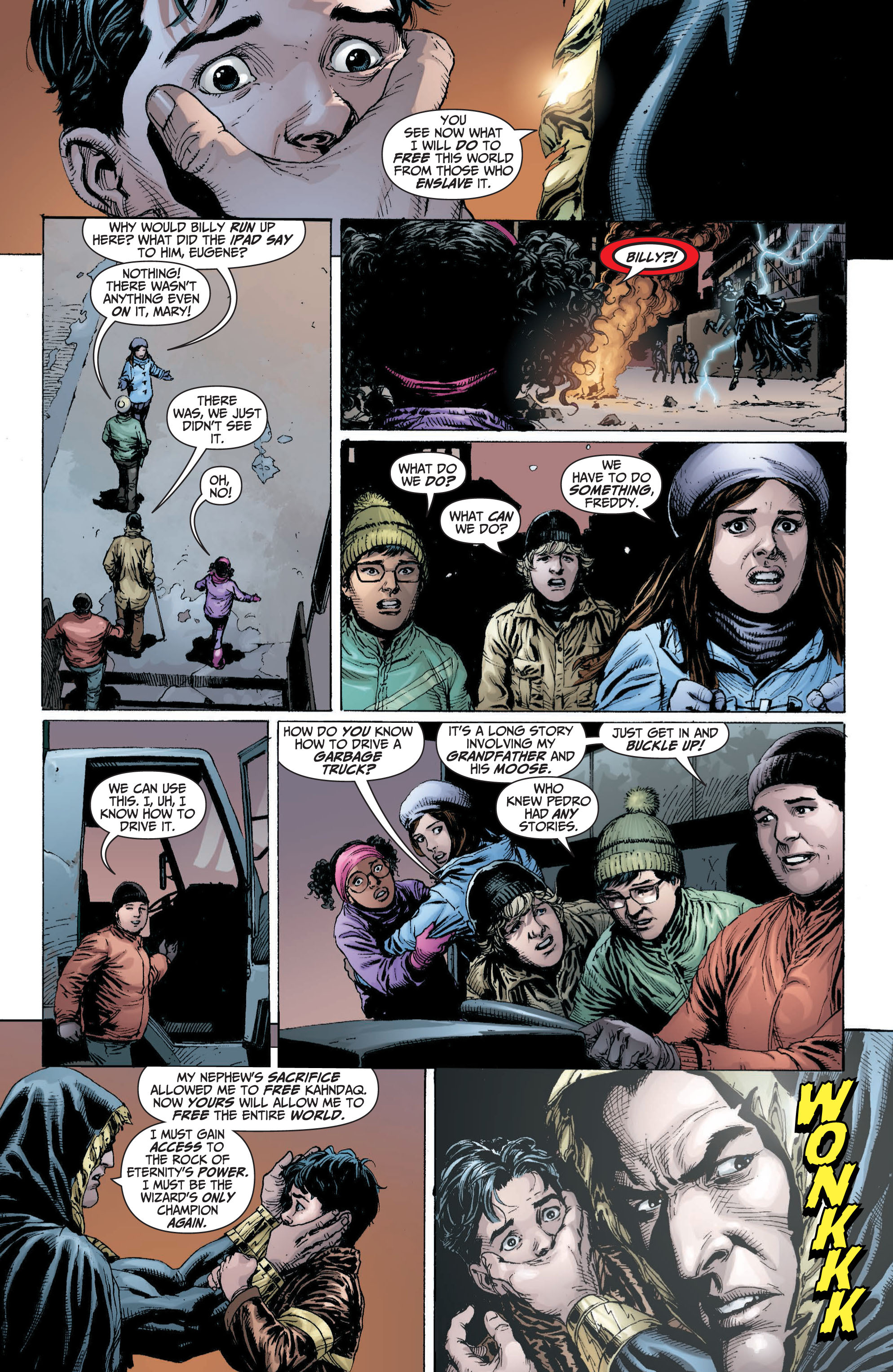 Read online Shazam! (2013) comic -  Issue #1 - 145