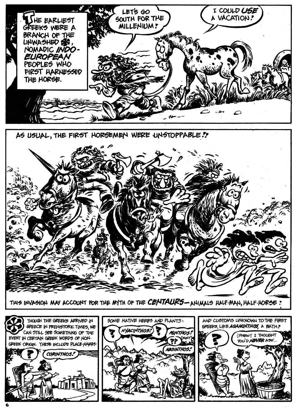 Read online The Cartoon History of the Universe comic -  Issue #5 - 8
