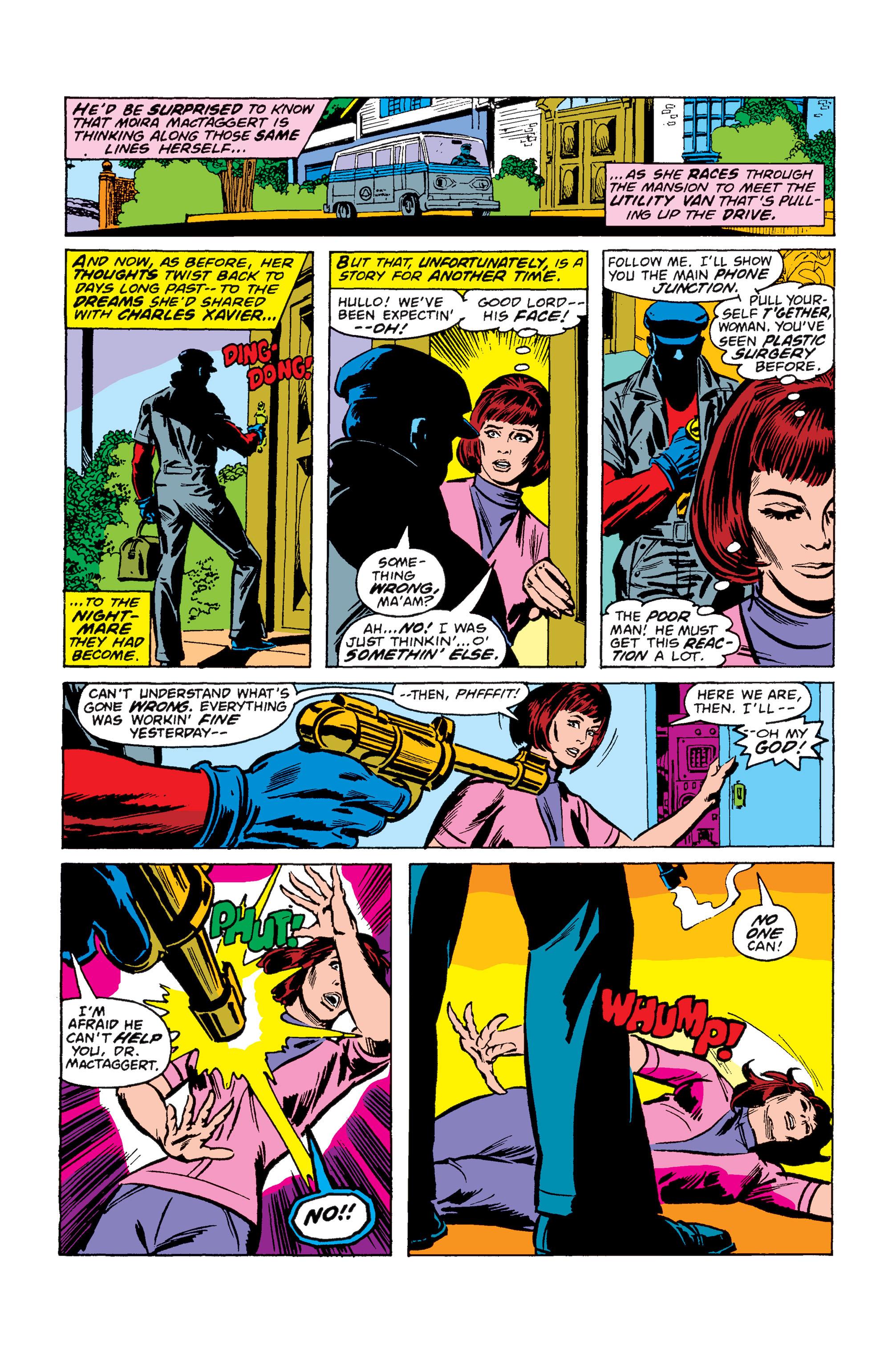 Read online Uncanny X-Men (1963) comic -  Issue #110 - 5
