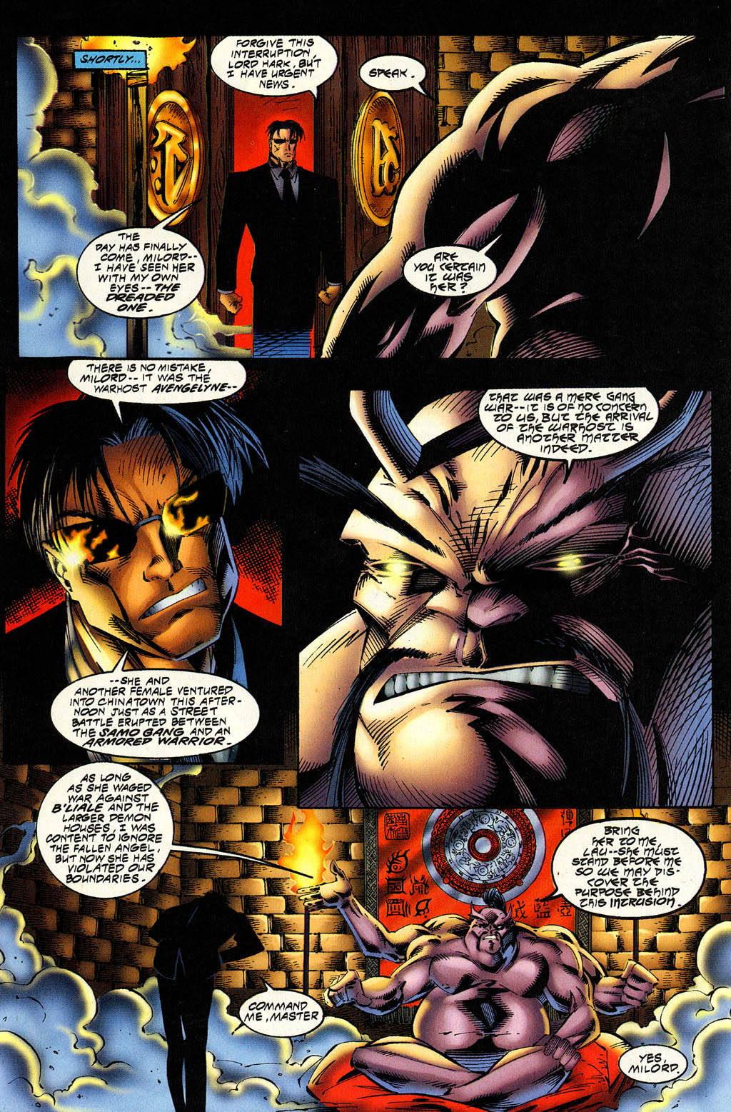 Read online Avengelyne (1996) comic -  Issue #6 - 11