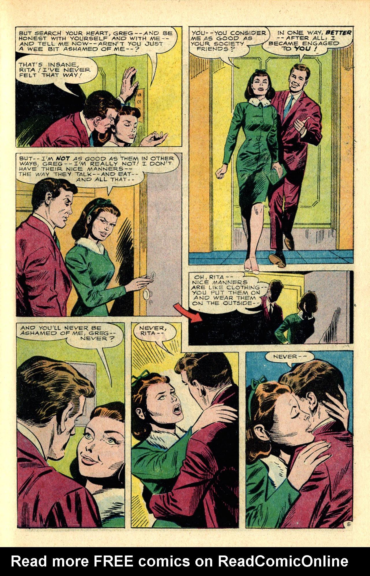 Read online Secret Hearts comic -  Issue #118 - 23