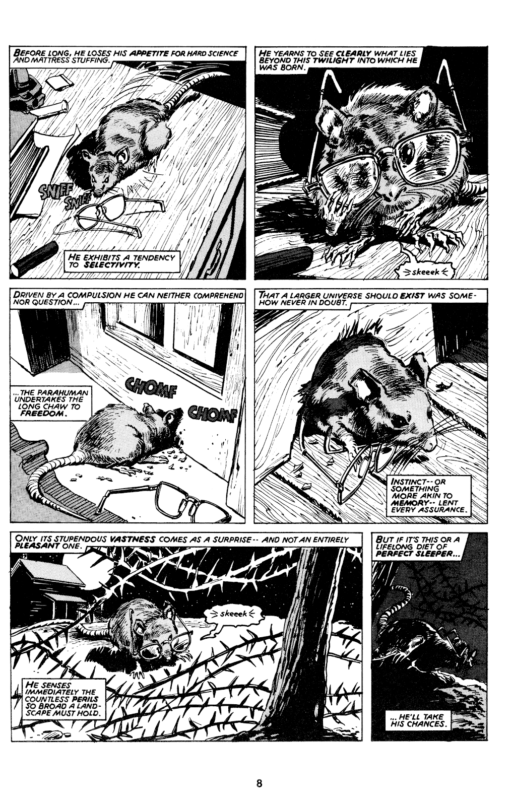 Read online Stewart the Rat comic -  Issue # Full - 10