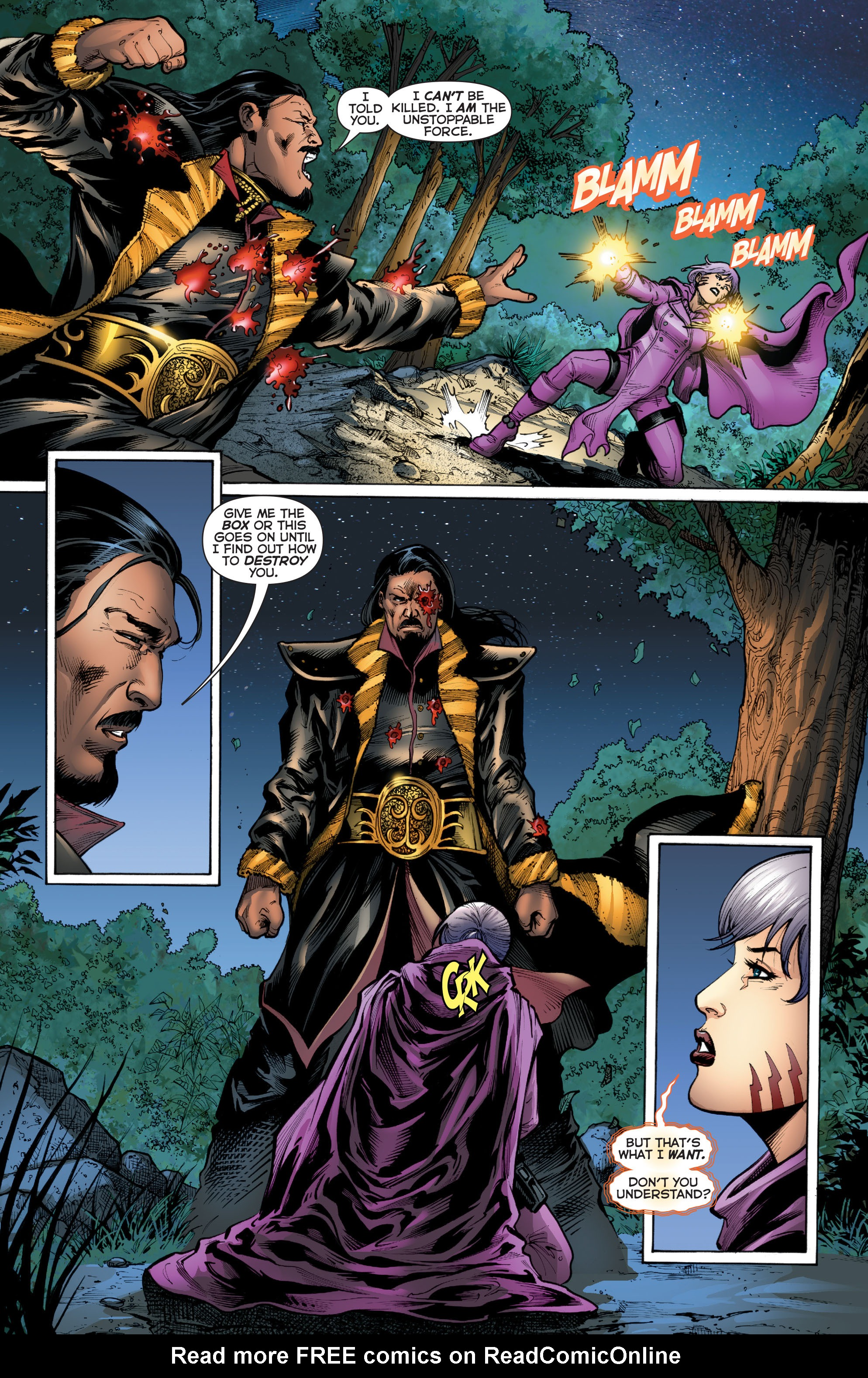Read online Trinity of Sin: Pandora comic -  Issue #2 - 17