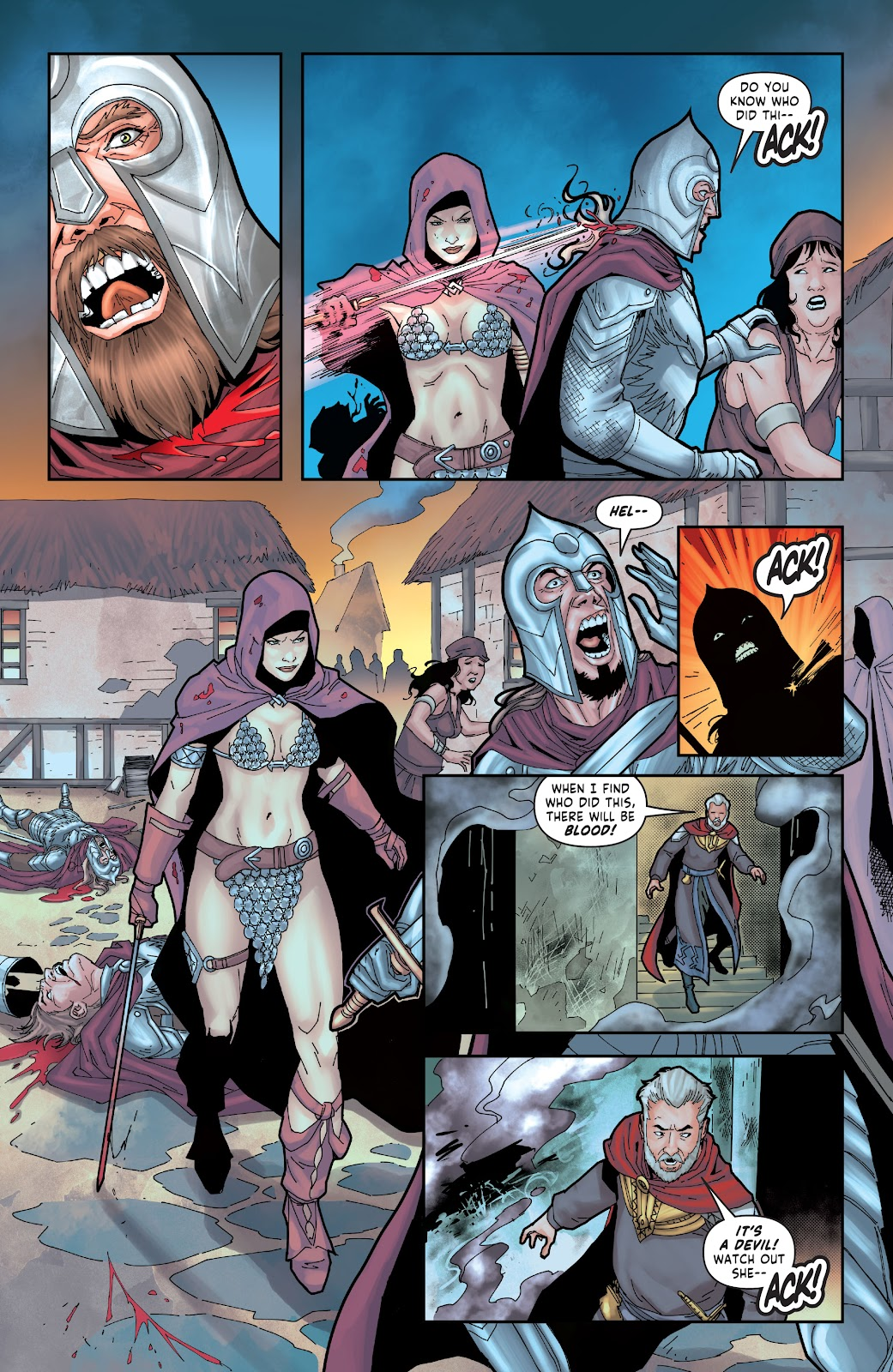 Red Sonja: The Price of Blood issue 2 - Page 25