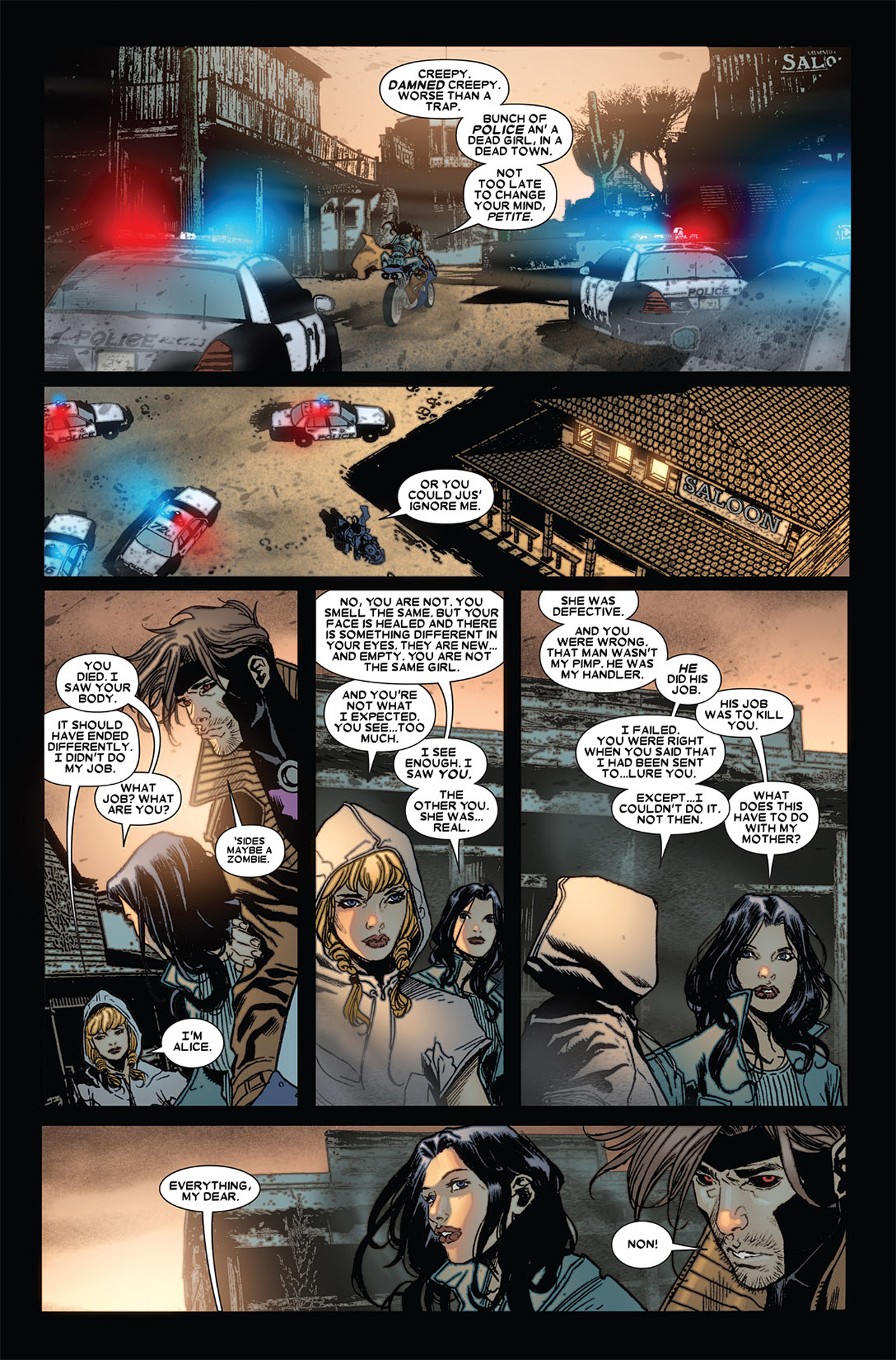 Read online X-23 (2010) comic -  Issue #4 - 22