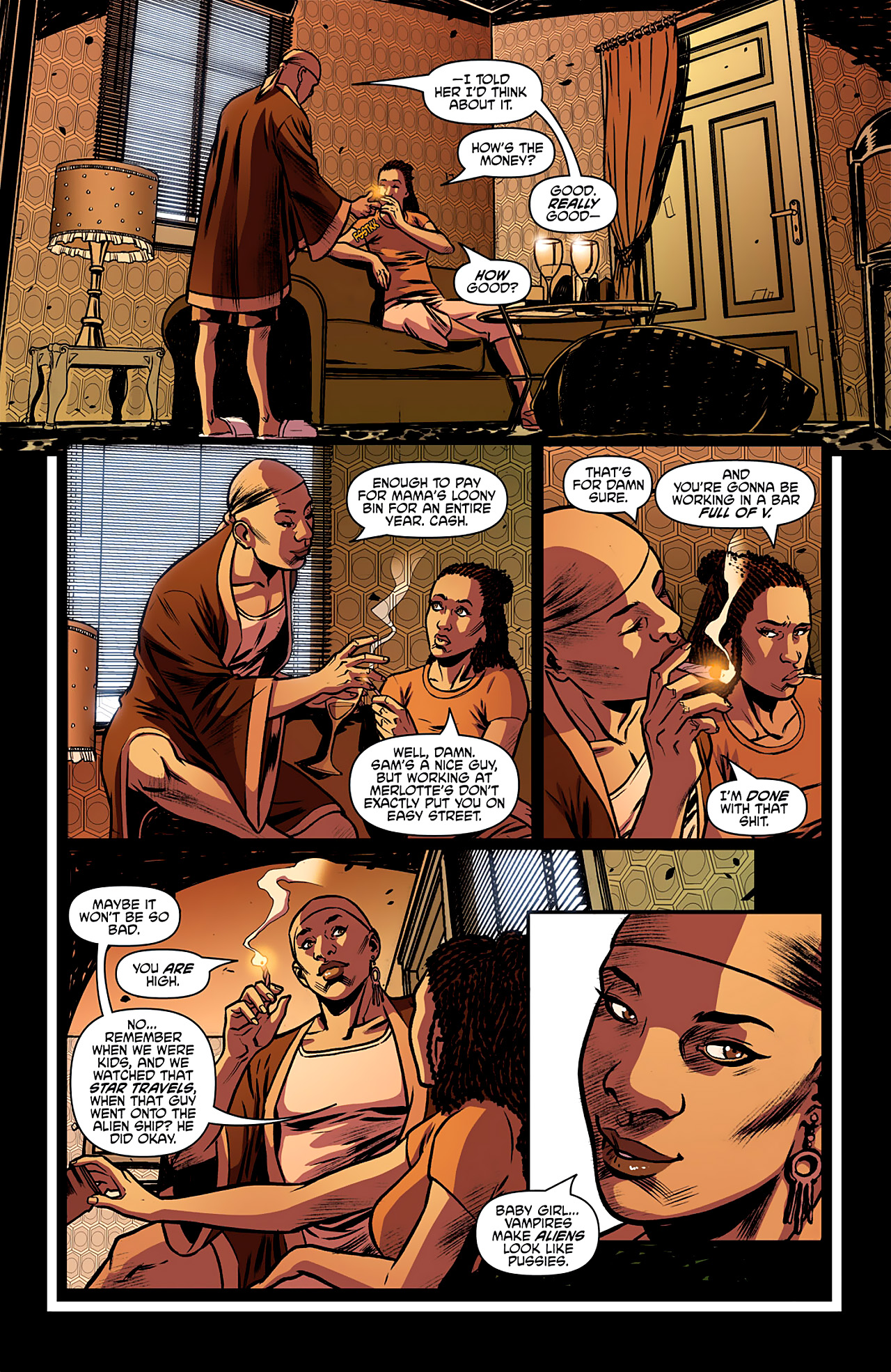 Read online True Blood: French Quarter comic -  Issue #2 - 10